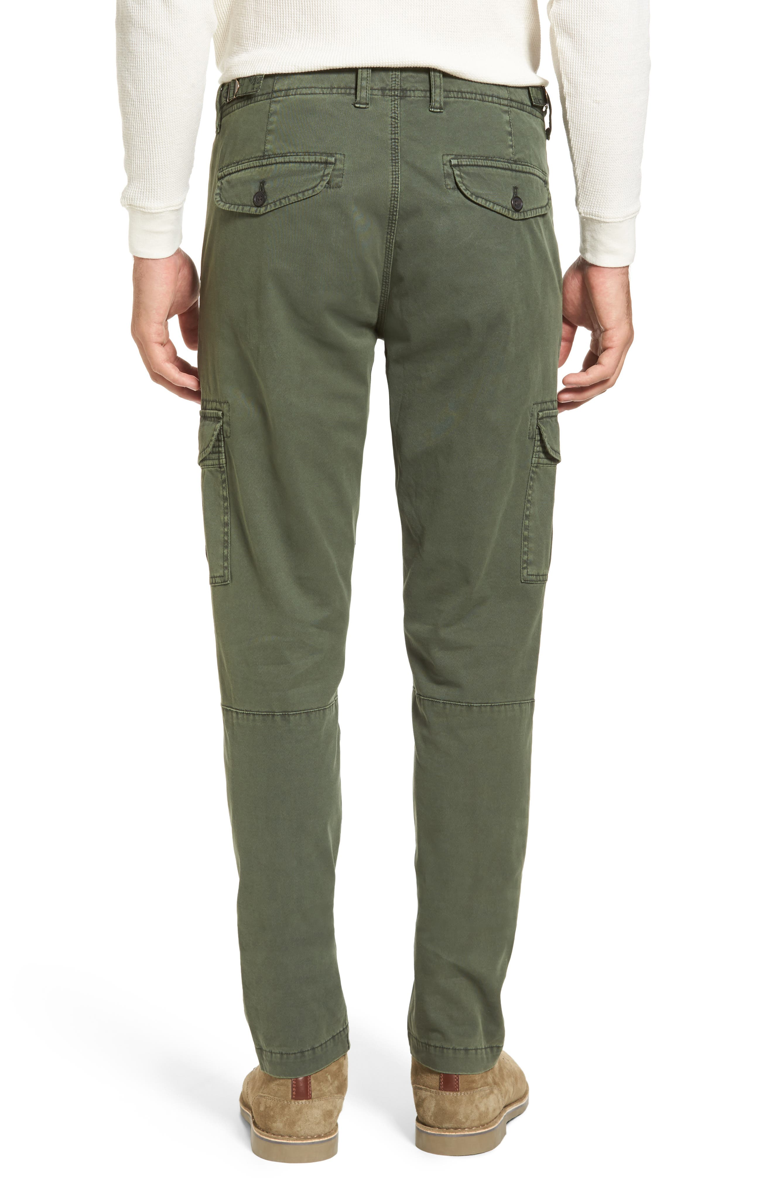 Stretch Twill Cargo Pants,                             Alternate thumbnail 5, color,