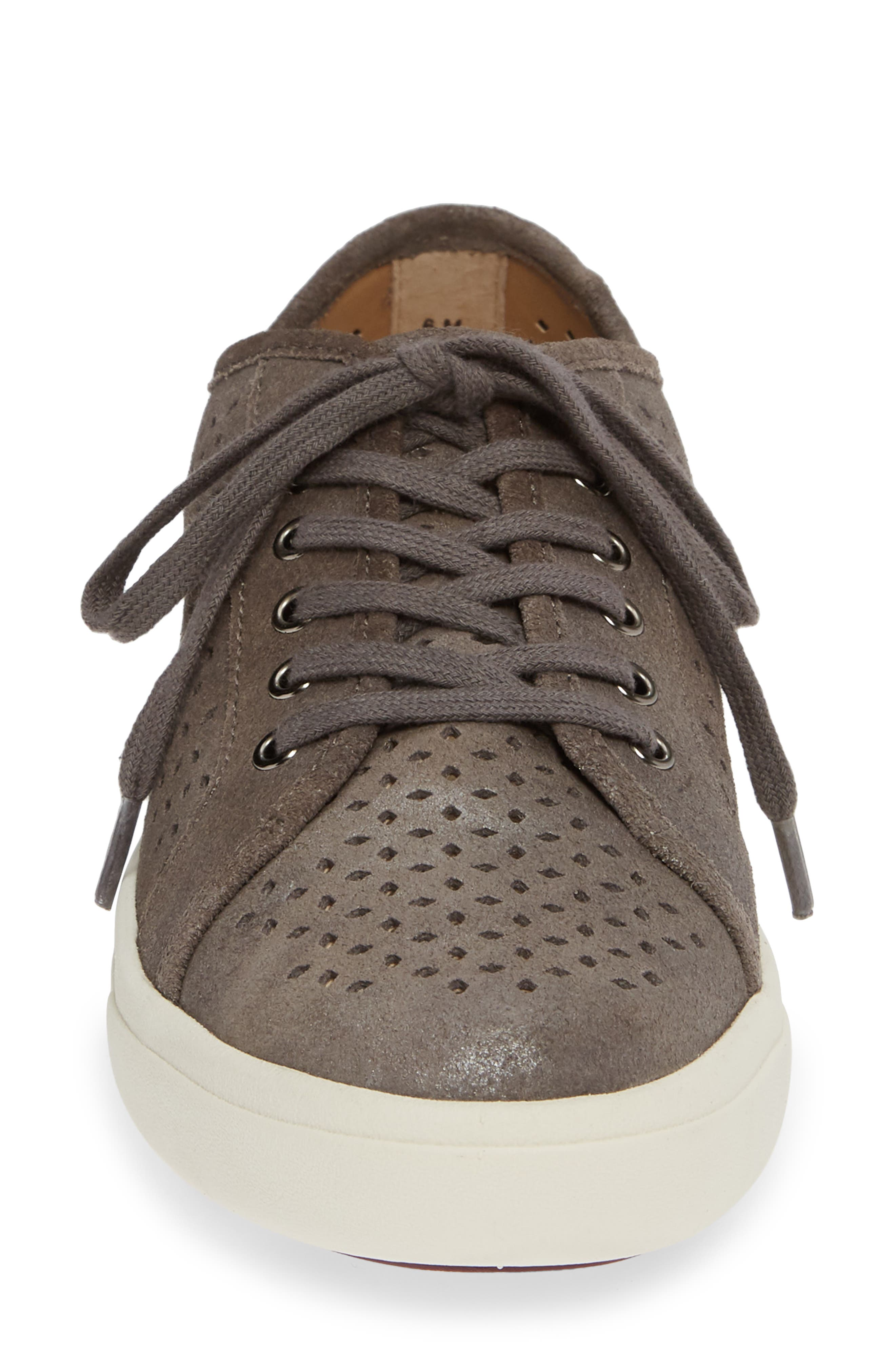 Oneida Sneaker,                             Alternate thumbnail 4, color,                             GREY SUEDE