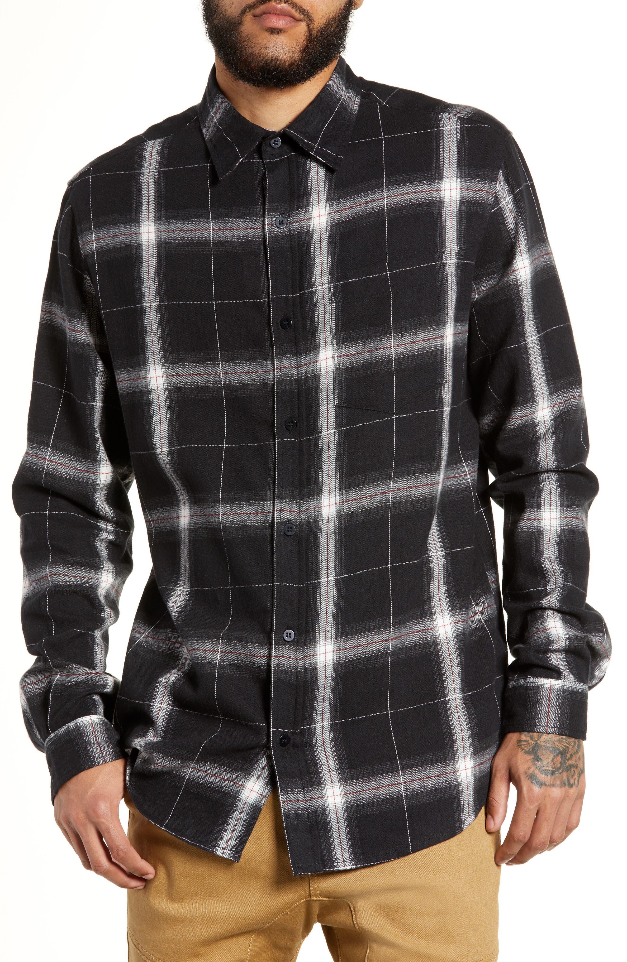 Lira Clothing Juju Long Sleeve Plaid Woven Shirt