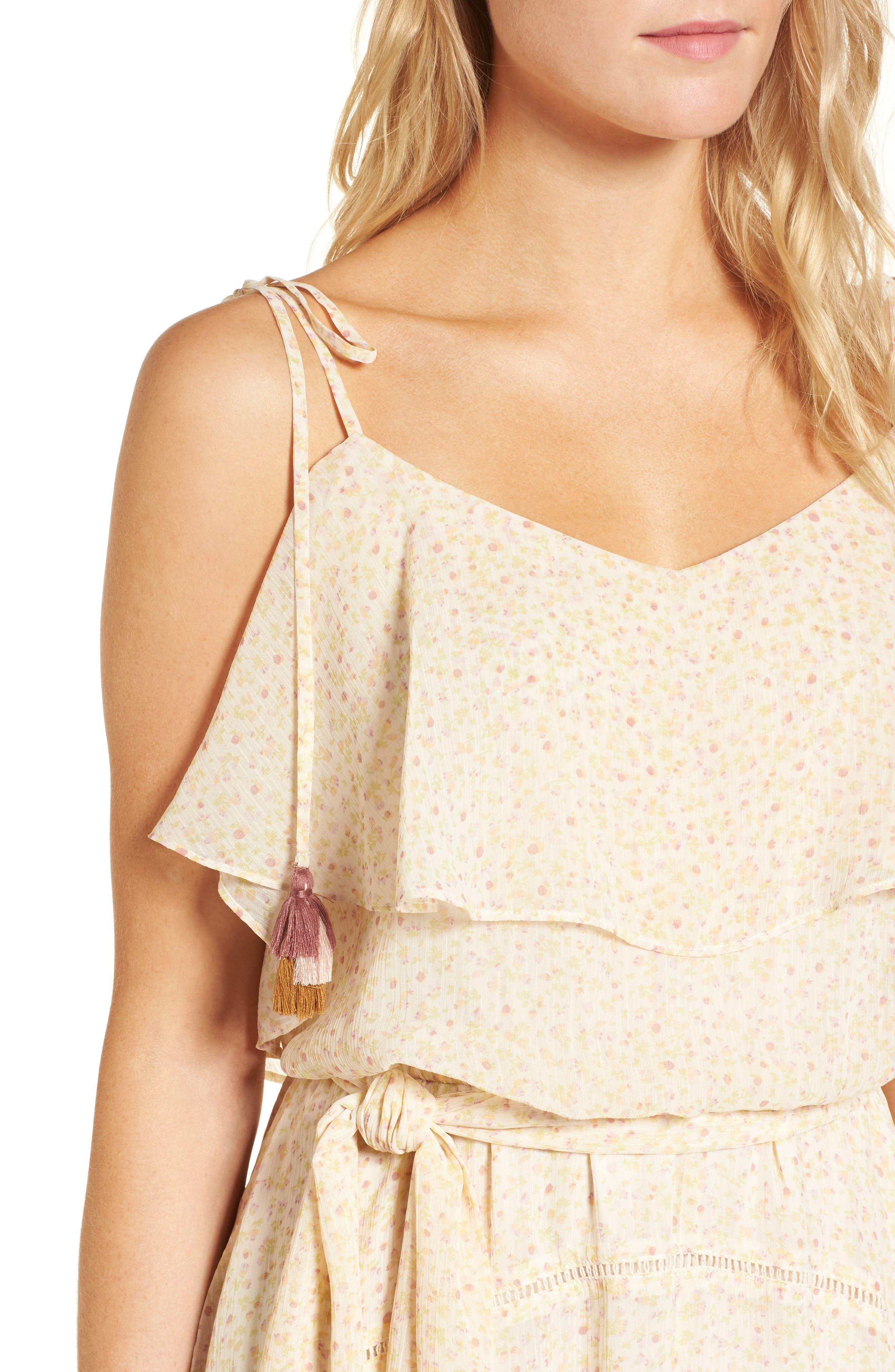 Decklan Maxi Dress,                             Alternate thumbnail 4, color,                             900