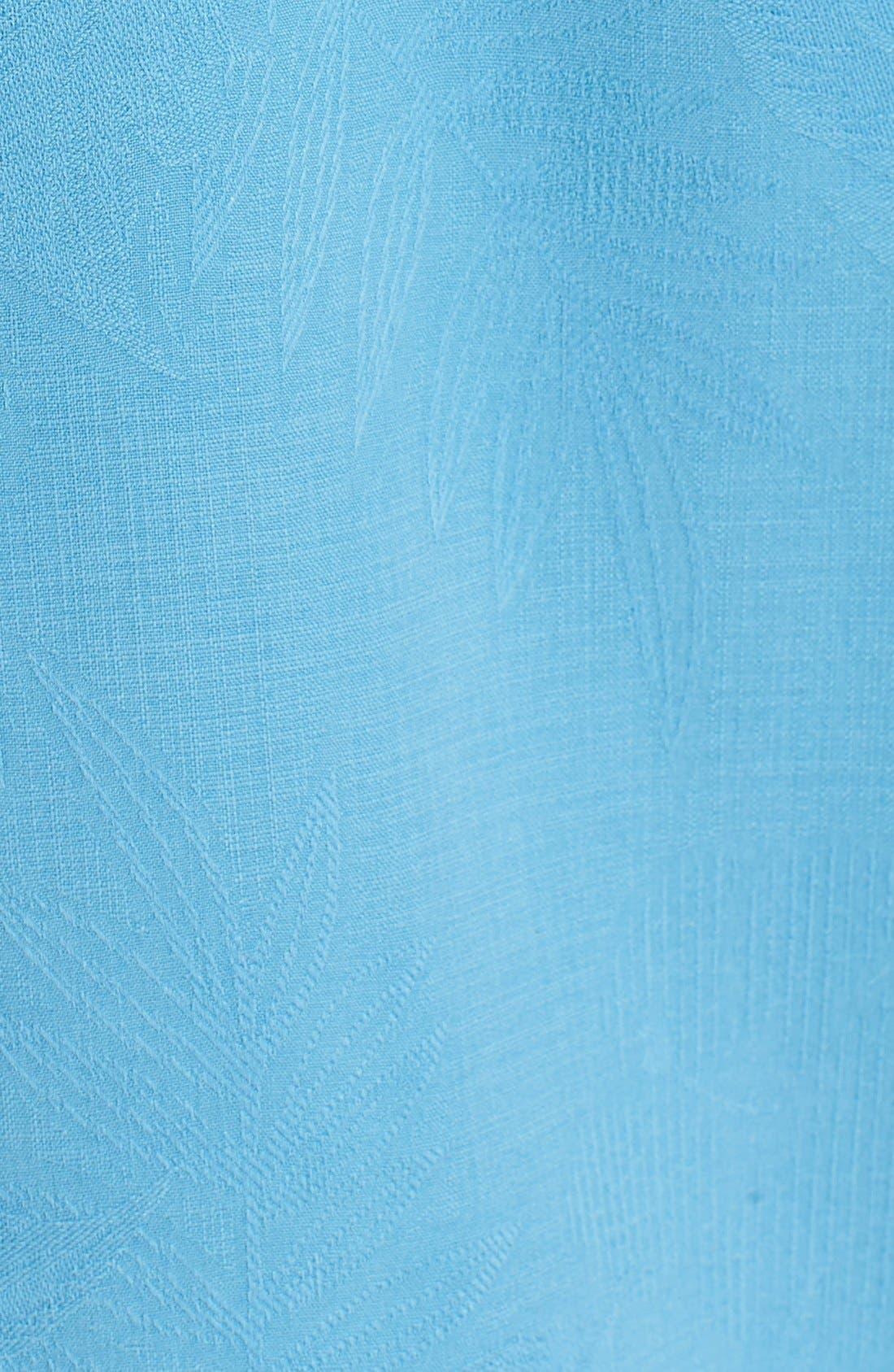 Rio Fronds Short Sleeve Silk Sport Shirt,                             Alternate thumbnail 71, color,