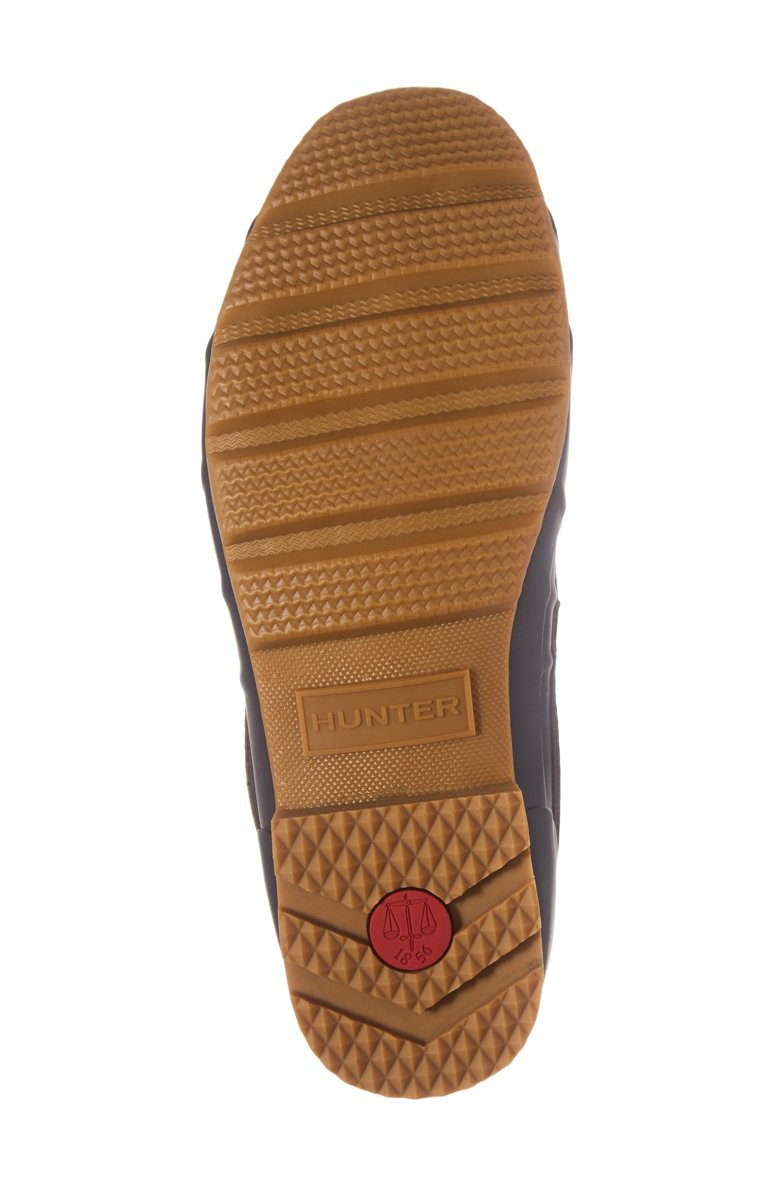 HUNTER,                             Original Pac Waterproof Boot,                             Alternate thumbnail 6, color,                             209