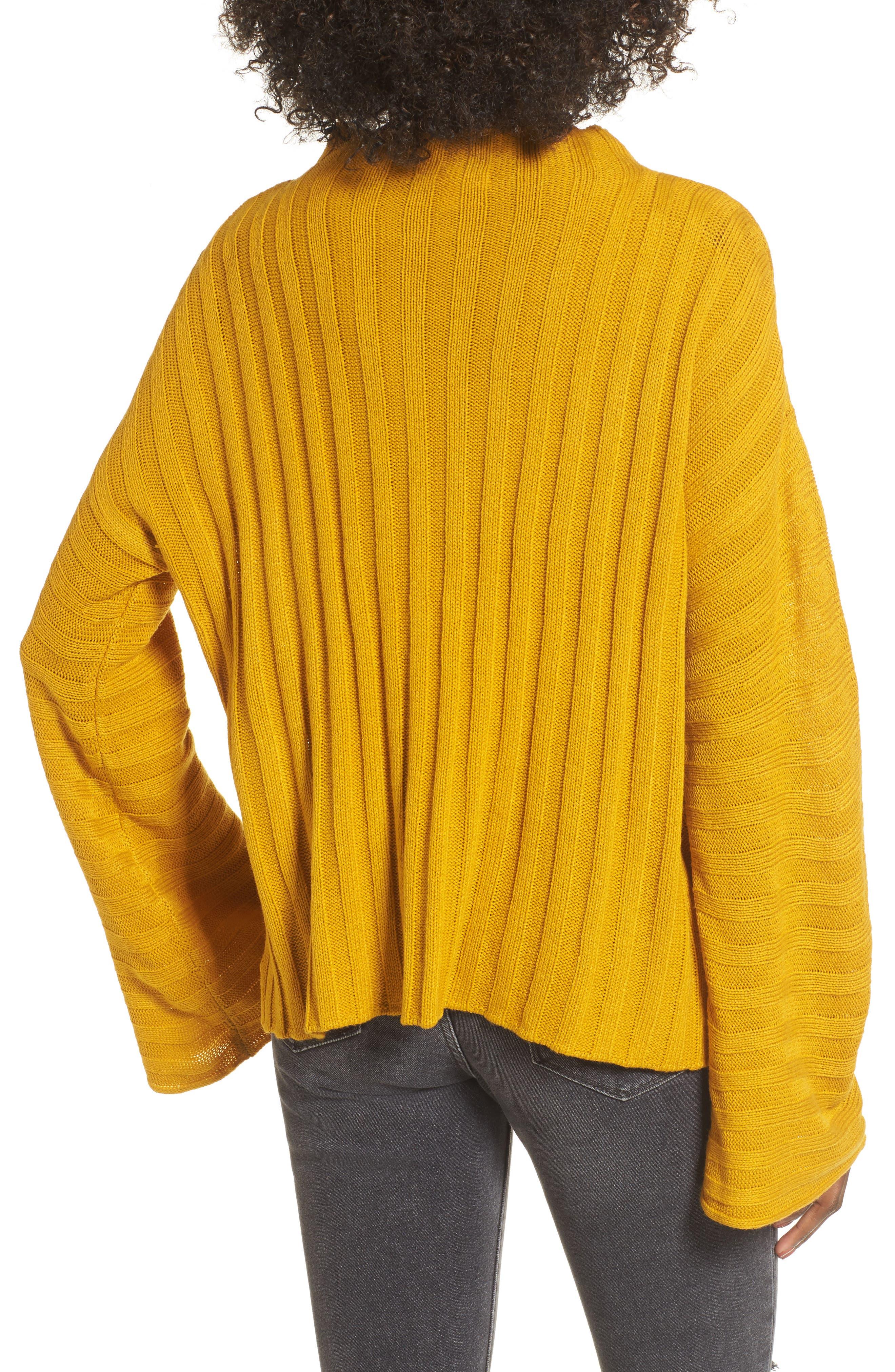 Wide Rib Mock Neck Sweater,                             Alternate thumbnail 2, color,                             315