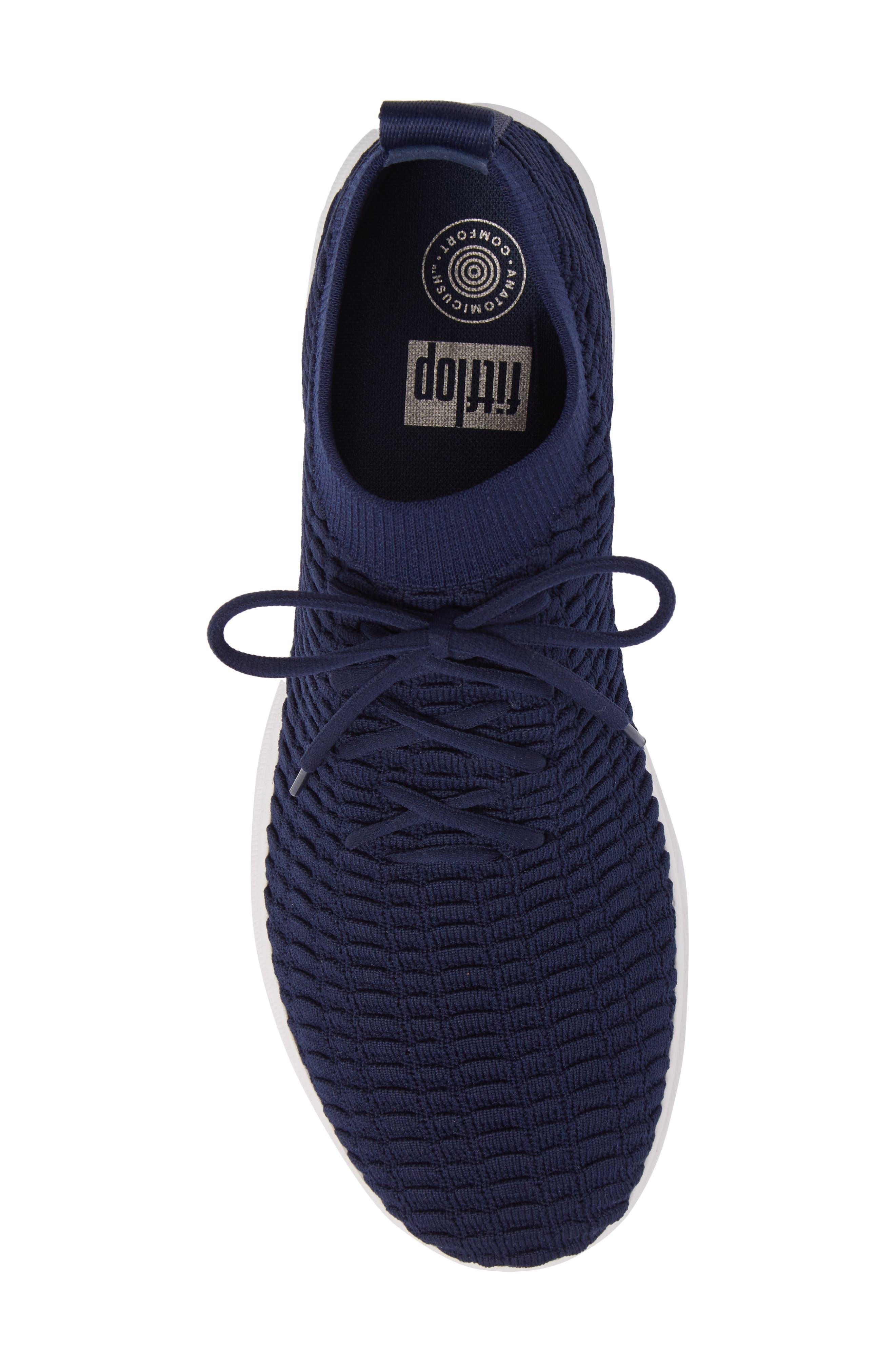 Uberknit Sneaker,                             Alternate thumbnail 5, color,                             DARK SAPPHIRE TEXTILE