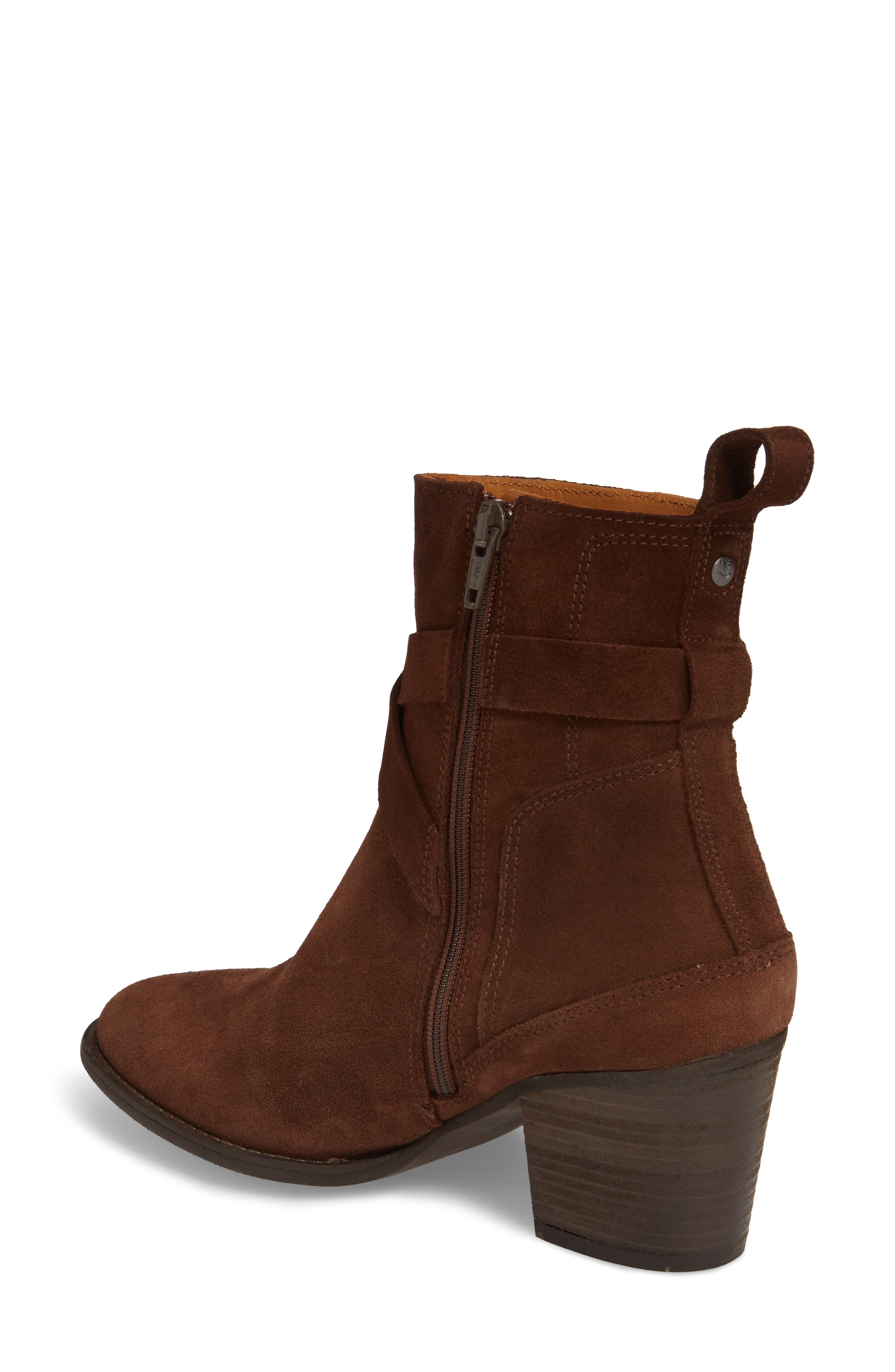 Refined Water Resistant Strappy Boot,                             Alternate thumbnail 3, color,