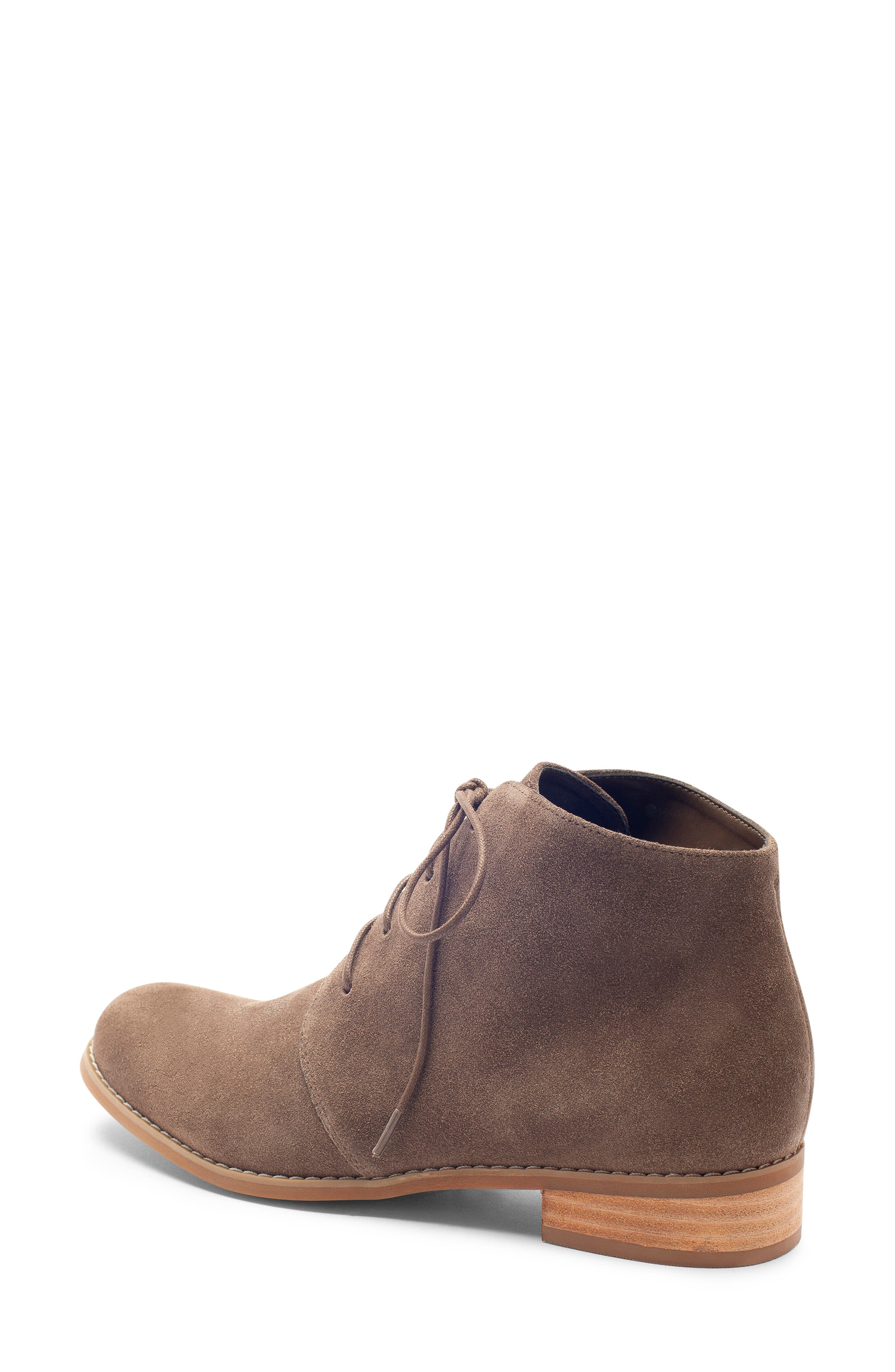 Rayann Waterproof Desert Boot,                             Alternate thumbnail 2, color,                             DARK TAUPE SUEDE