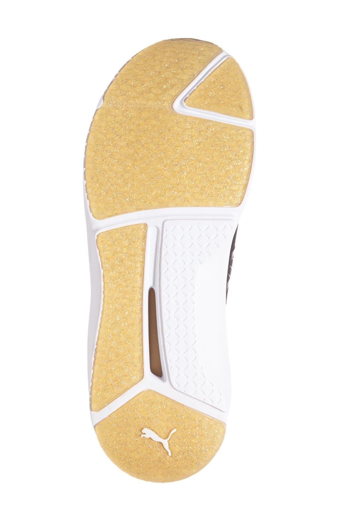 FENTY PUMA by Rihanna 'Fierce Gold' High Top Sneaker,                             Alternate thumbnail 2, color,                             001