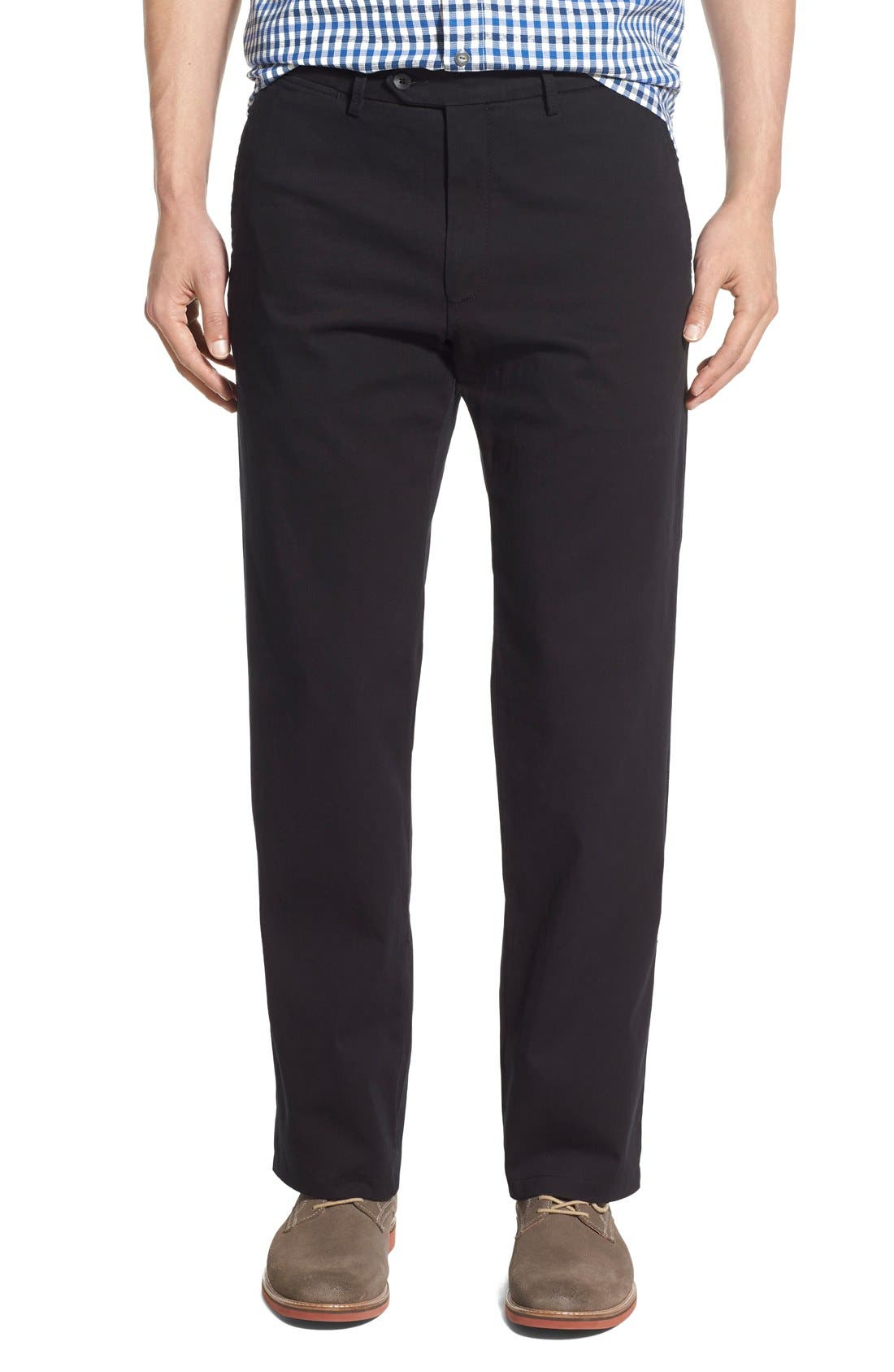 Mansfield Pima Cotton Pant,                             Main thumbnail 1, color,                             001