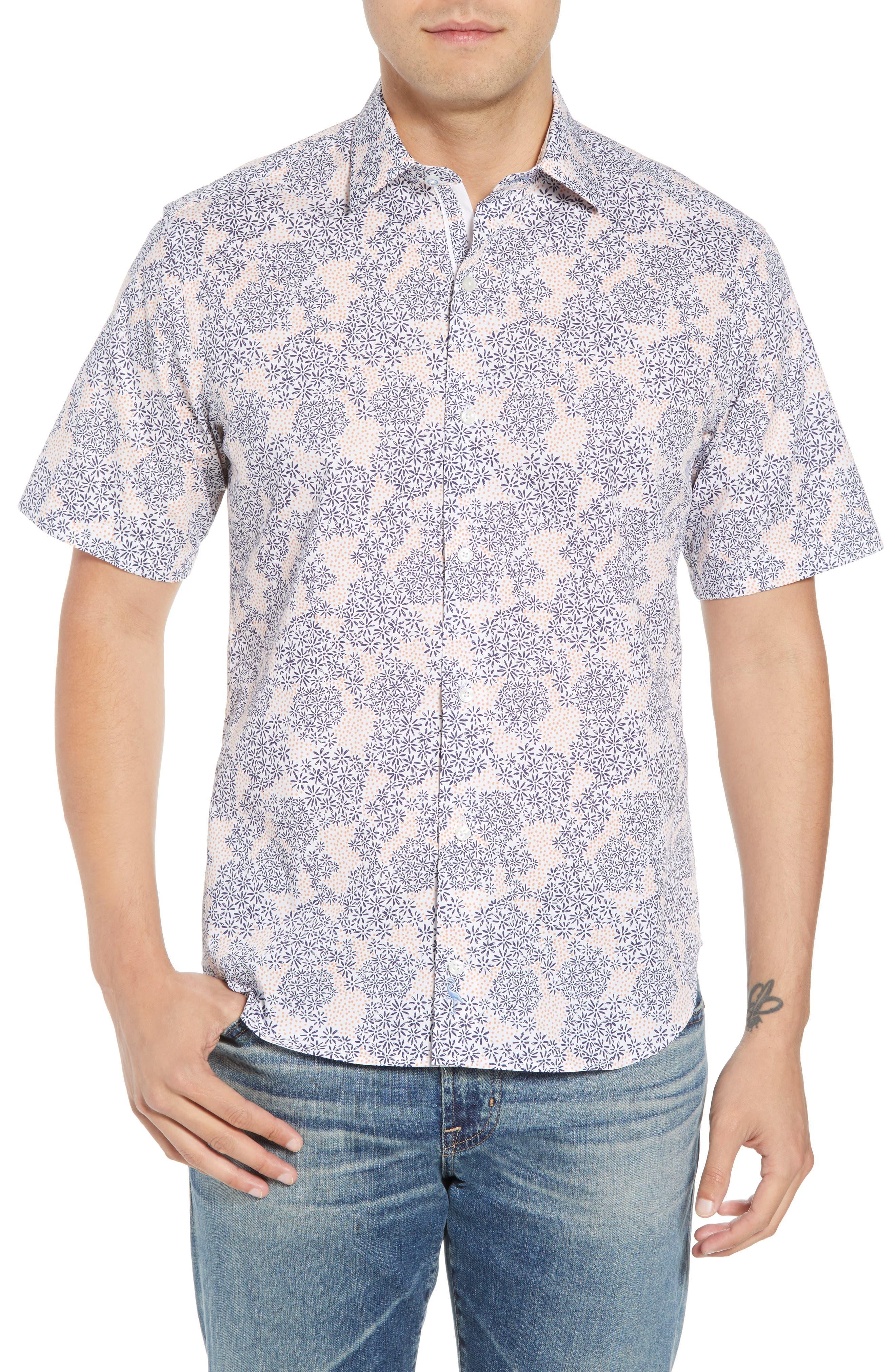 Ali Regular Fit Print Sport Shirt,                         Main,                         color,