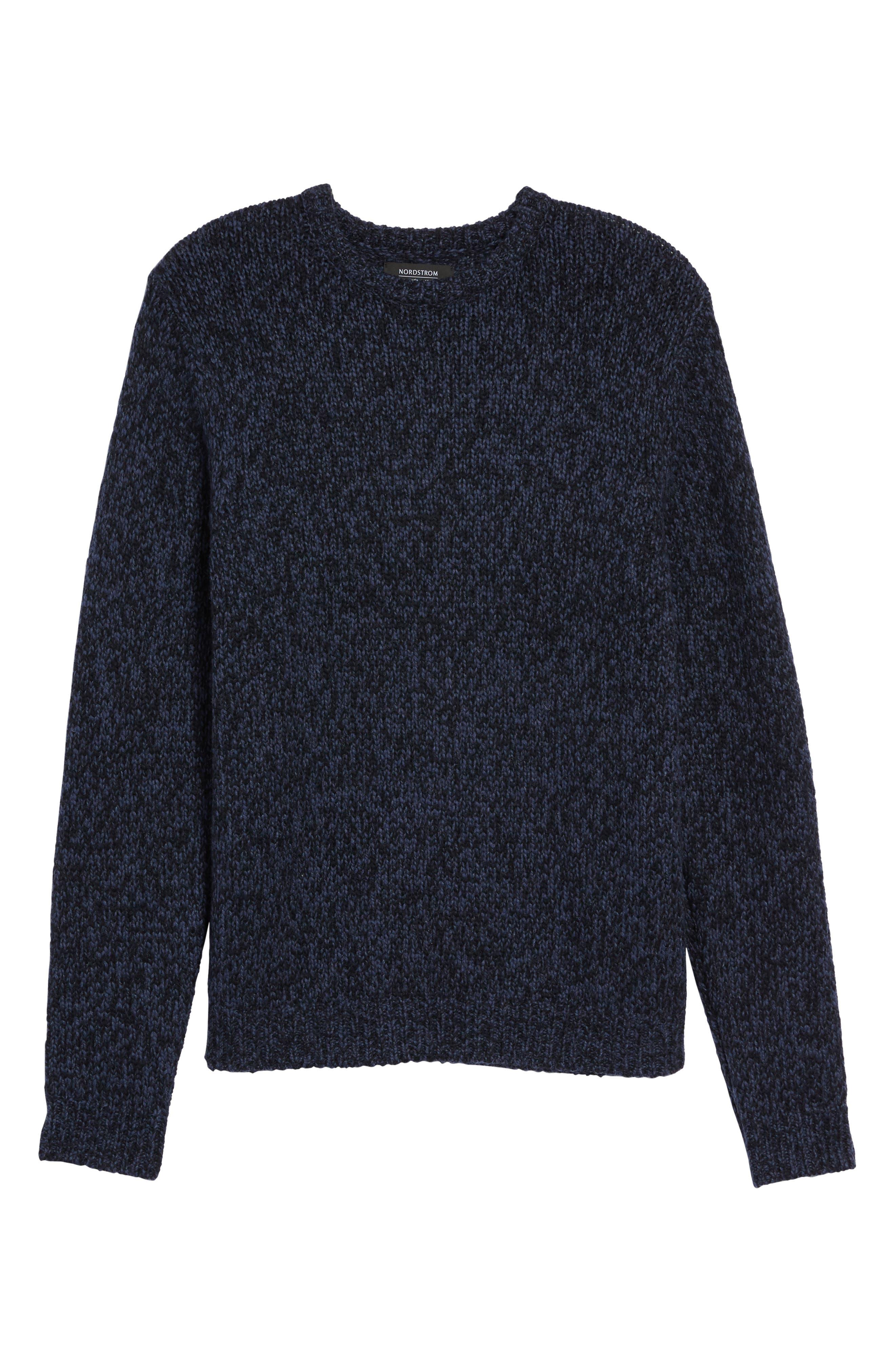 Marled Yarn Sweater,                             Alternate thumbnail 12, color,
