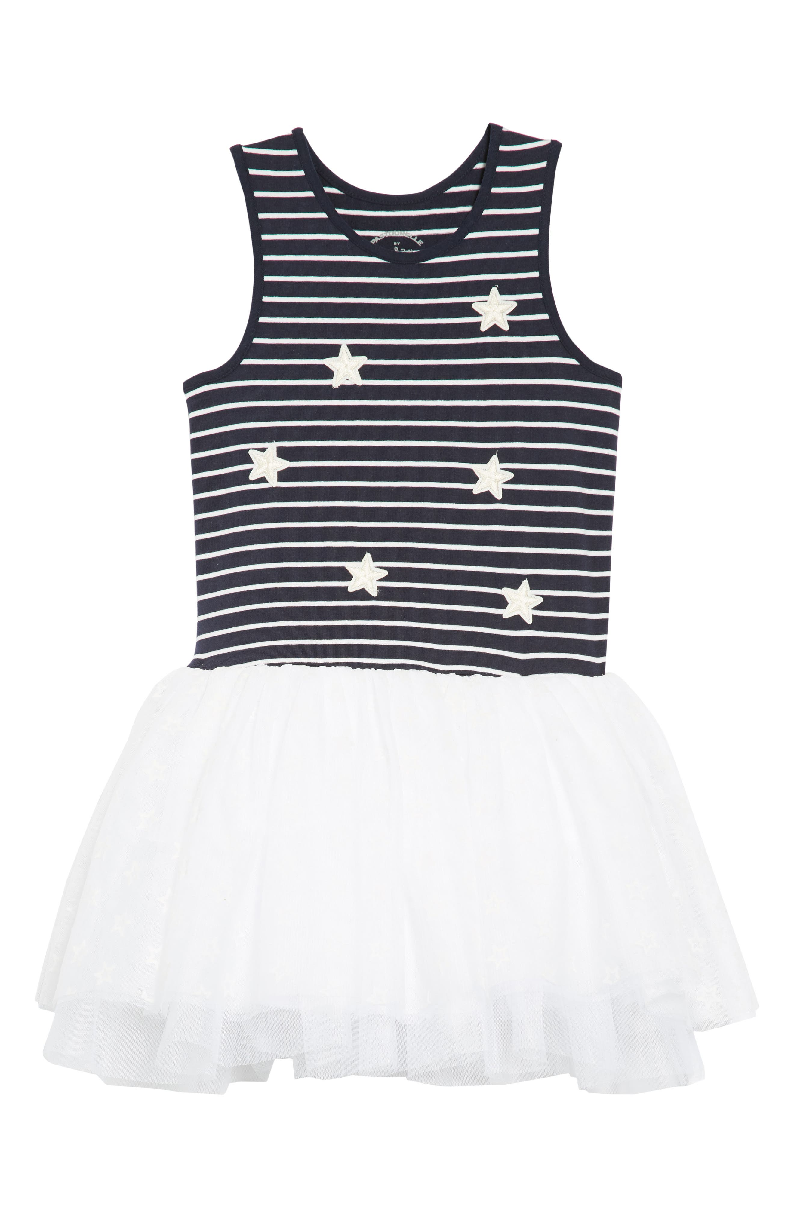 Stars & Stripes Tutu Dress,                             Main thumbnail 1, color,                             416