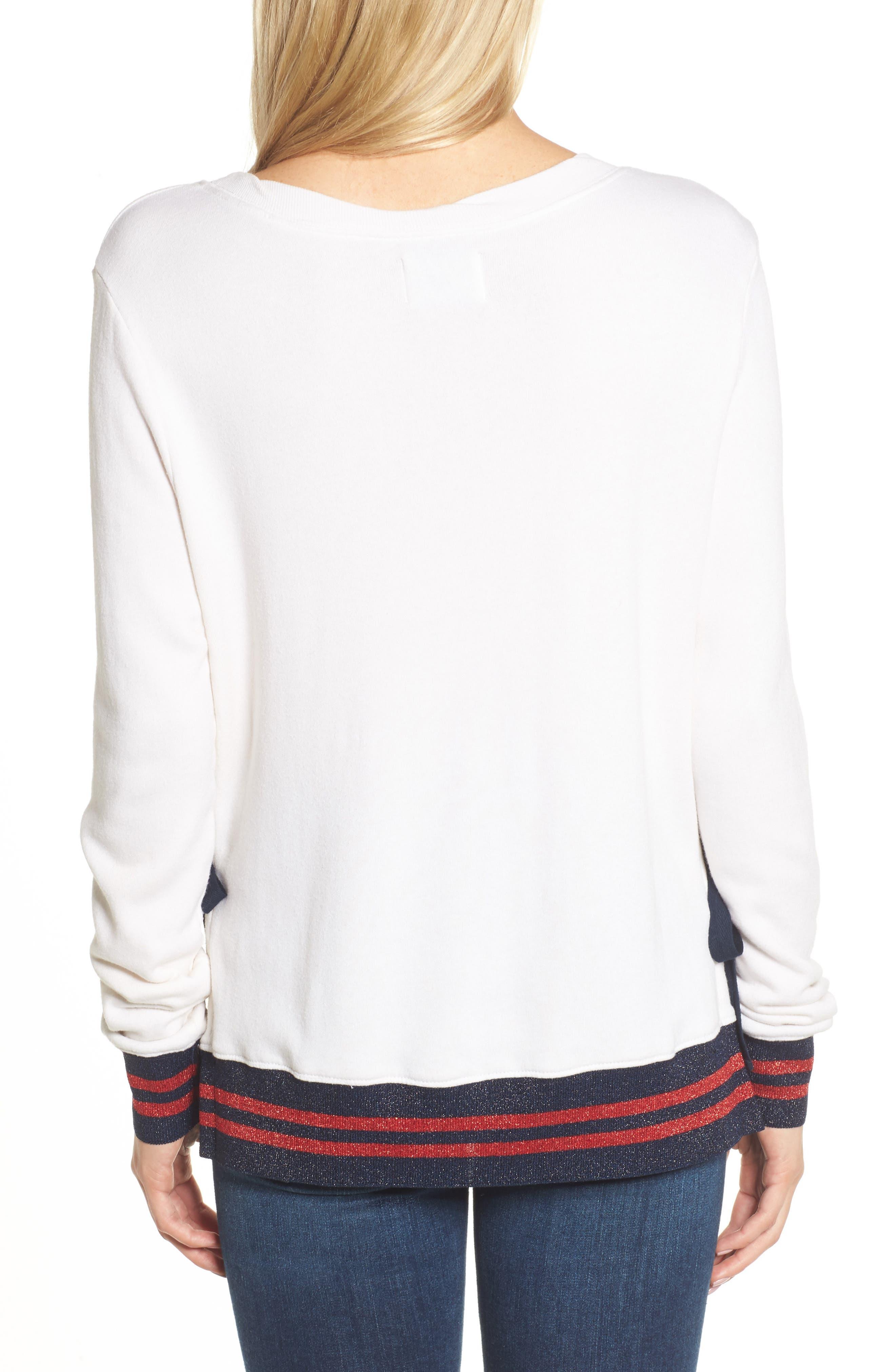 Side Slit Sweatshirt,                             Alternate thumbnail 2, color,                             118