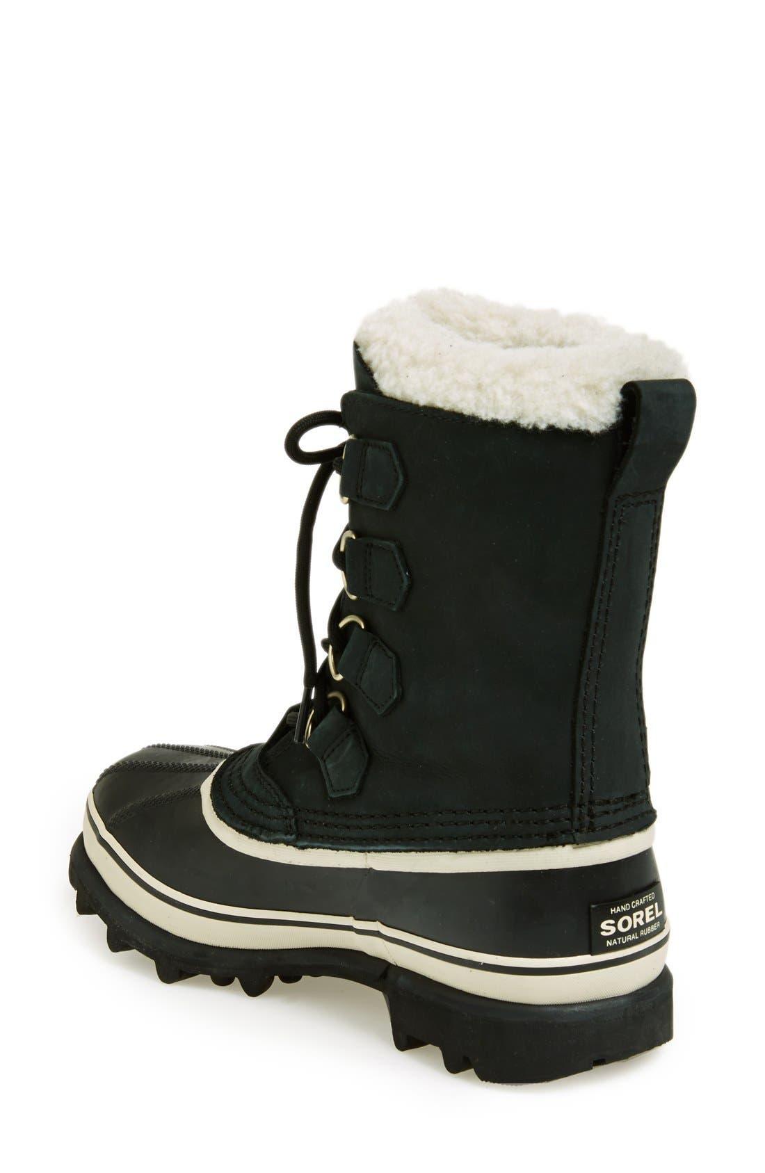 SOREL,                             'Caribou' Boot,                             Alternate thumbnail 6, color,                             011