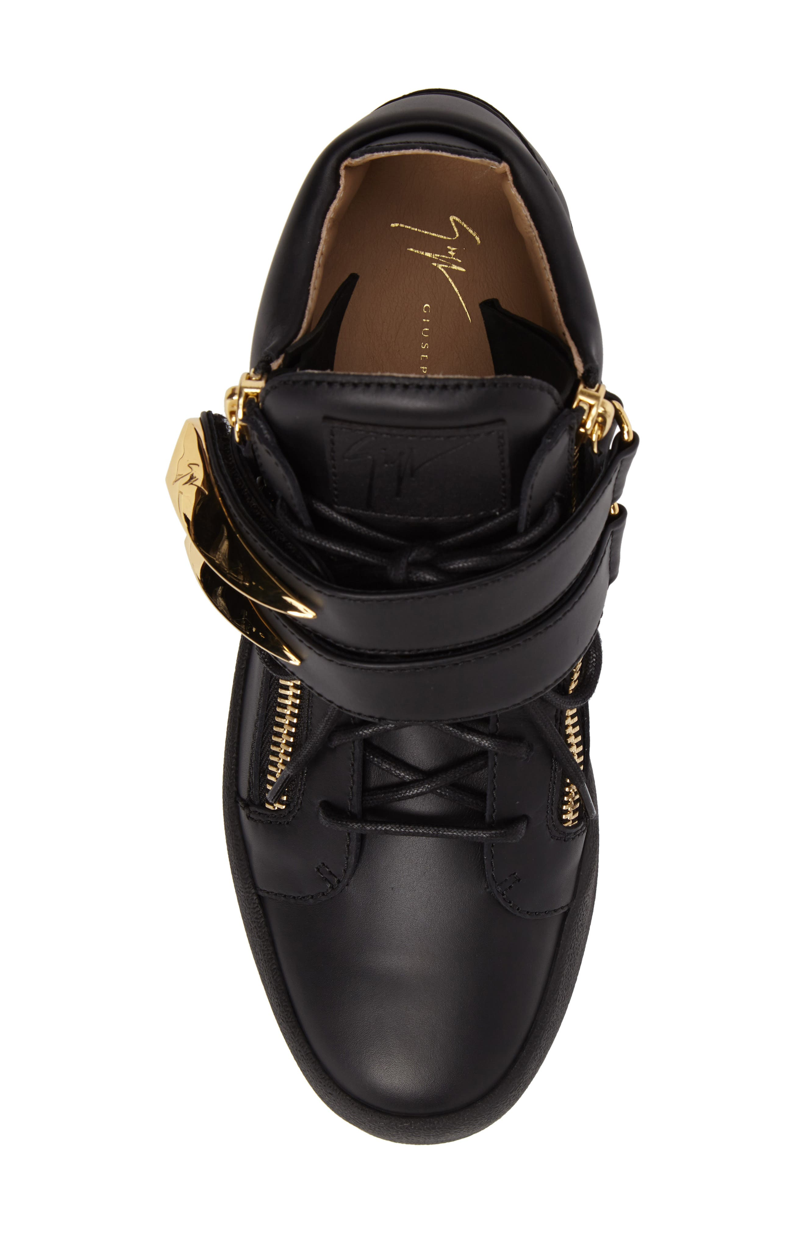 Gold Horn Mid Top Sneaker,                             Alternate thumbnail 5, color,