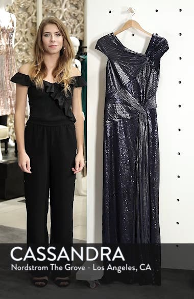 Pintuck Sequin Gown, sales video thumbnail