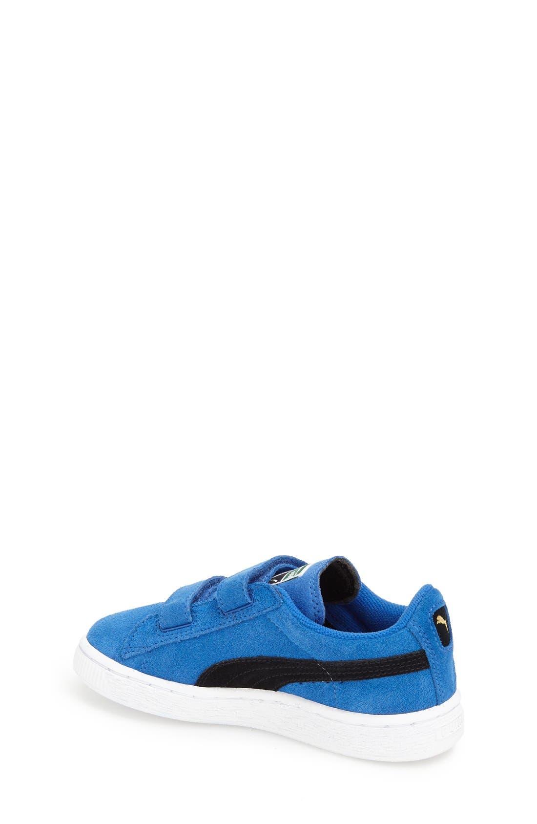 Suede Sneaker,                             Alternate thumbnail 27, color,
