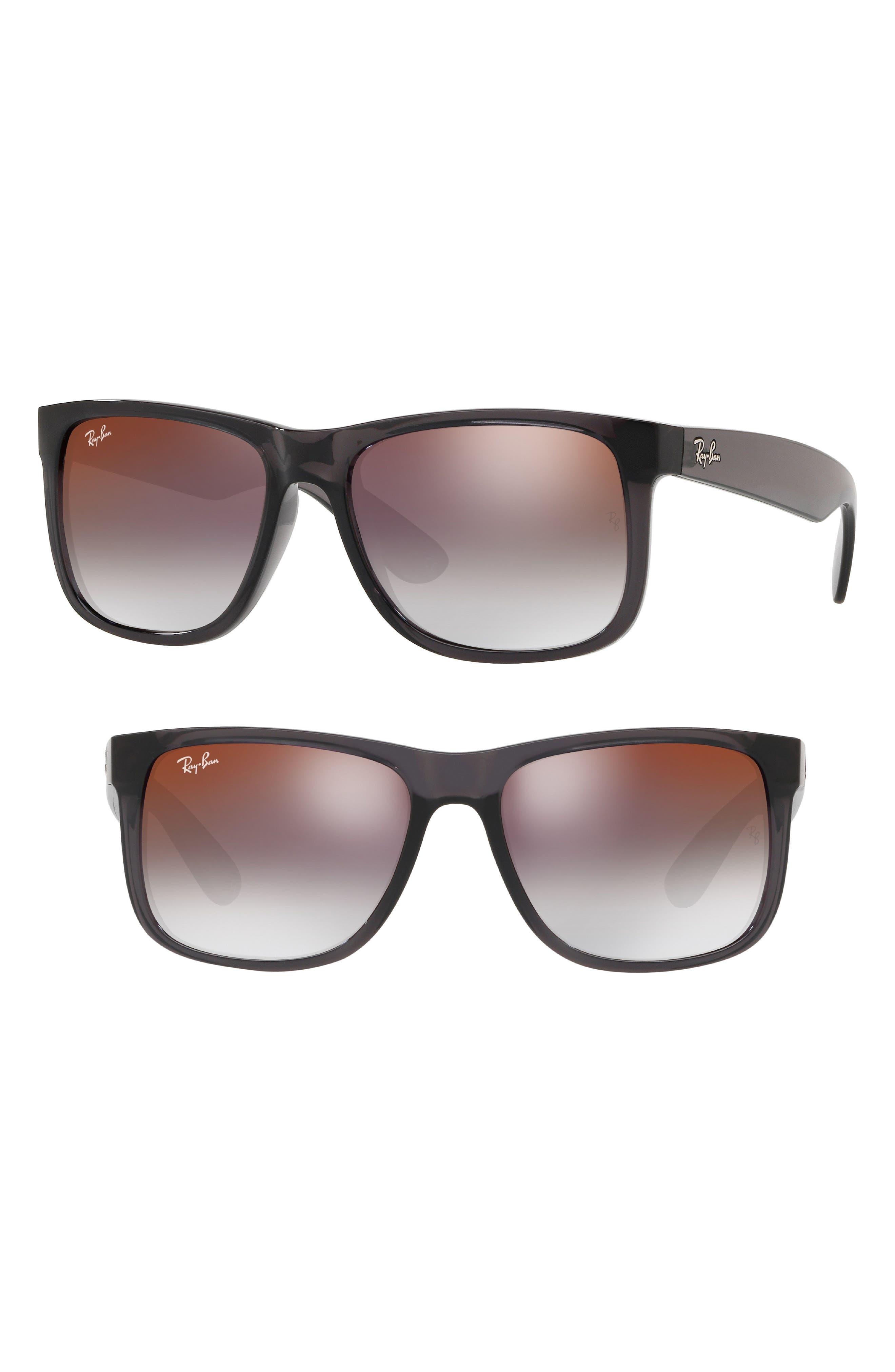 Justin 54mm Sunglasses,                             Main thumbnail 1, color,