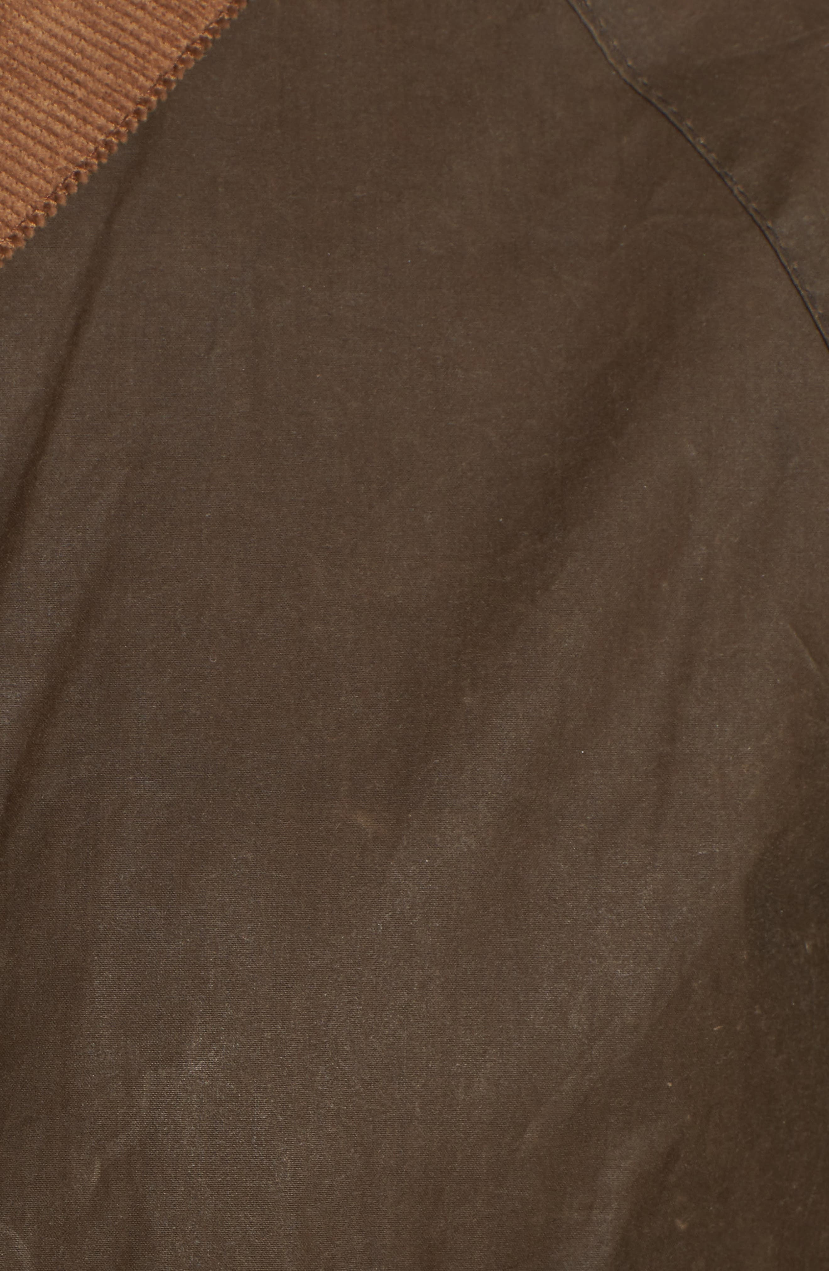Acorn Water Resistant Waxed Cotton Jacket,                             Alternate thumbnail 7, color,                             230