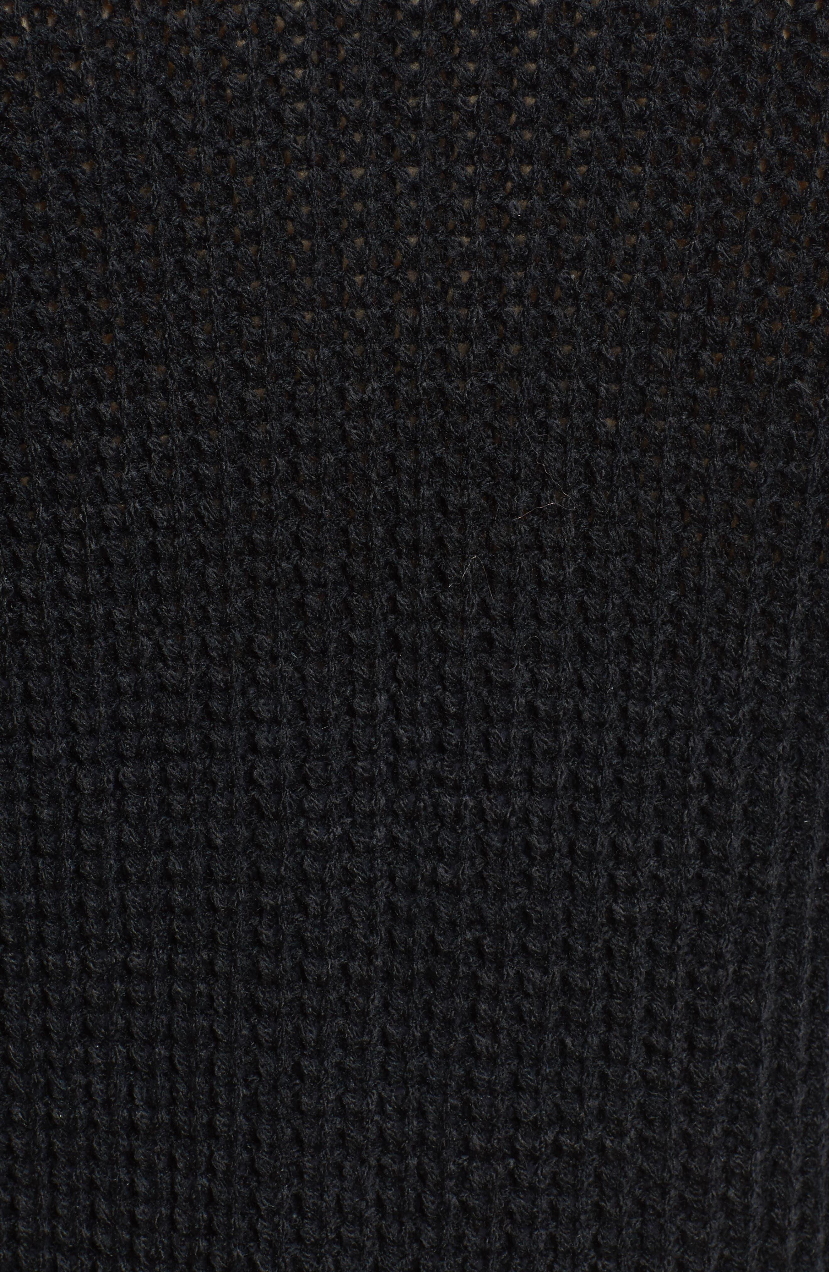 Faux Pearl Detail Cardigan,                             Alternate thumbnail 5, color,                             001