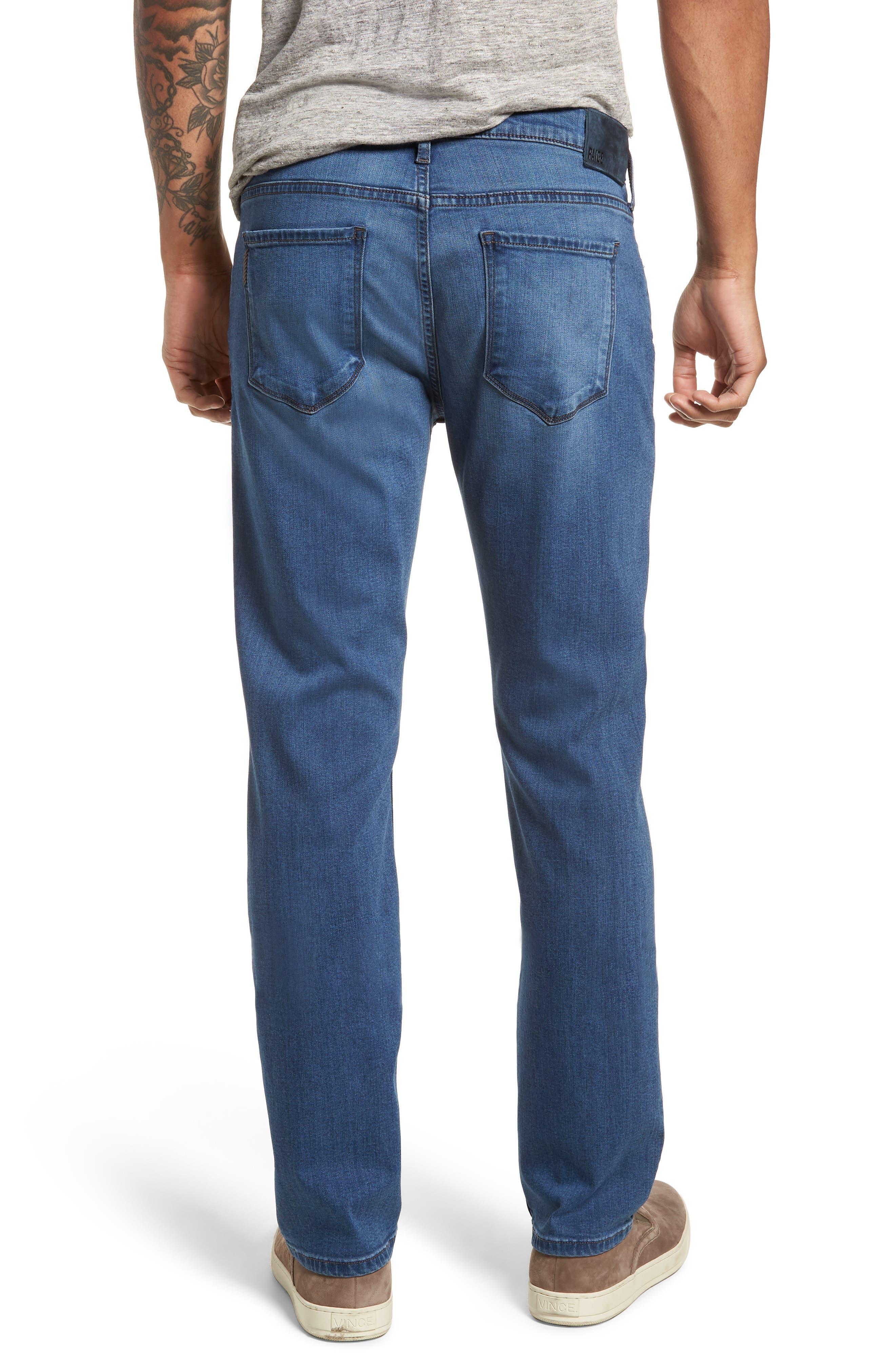 Federal Slim Straight Leg Jeans,                             Alternate thumbnail 2, color,