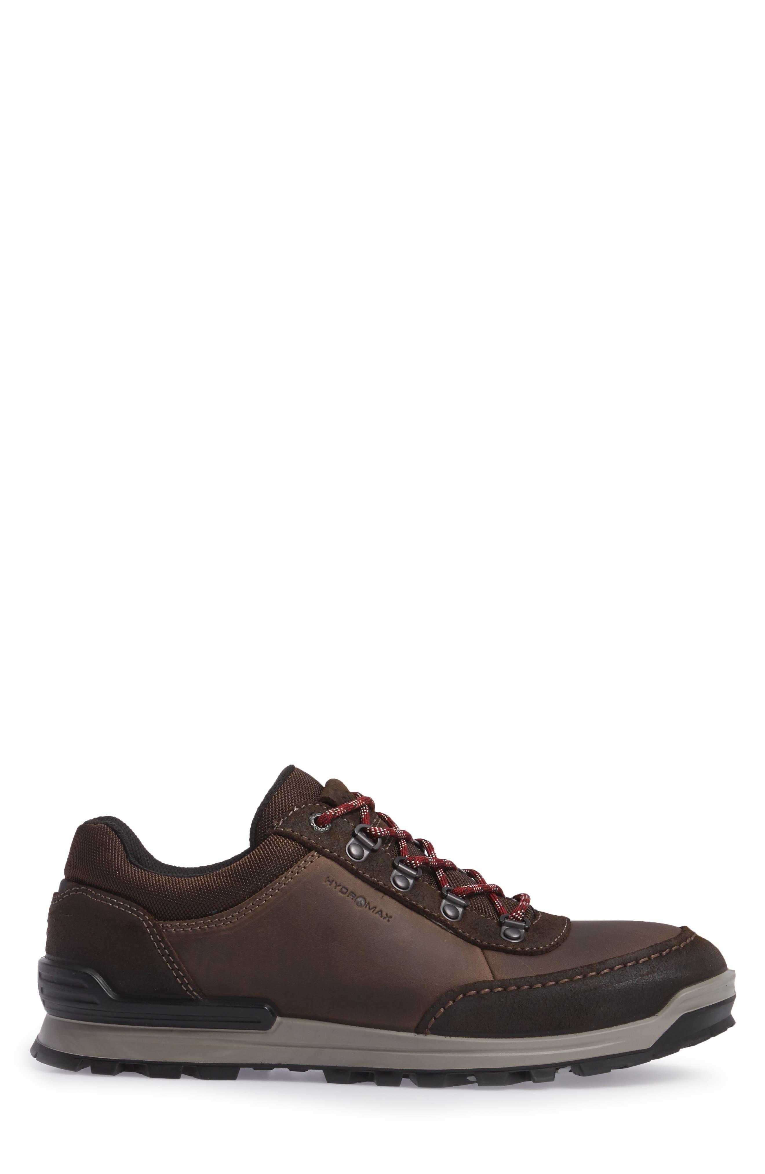 Oregon Sneaker,                             Alternate thumbnail 3, color,                             COFFEE NUBUCK
