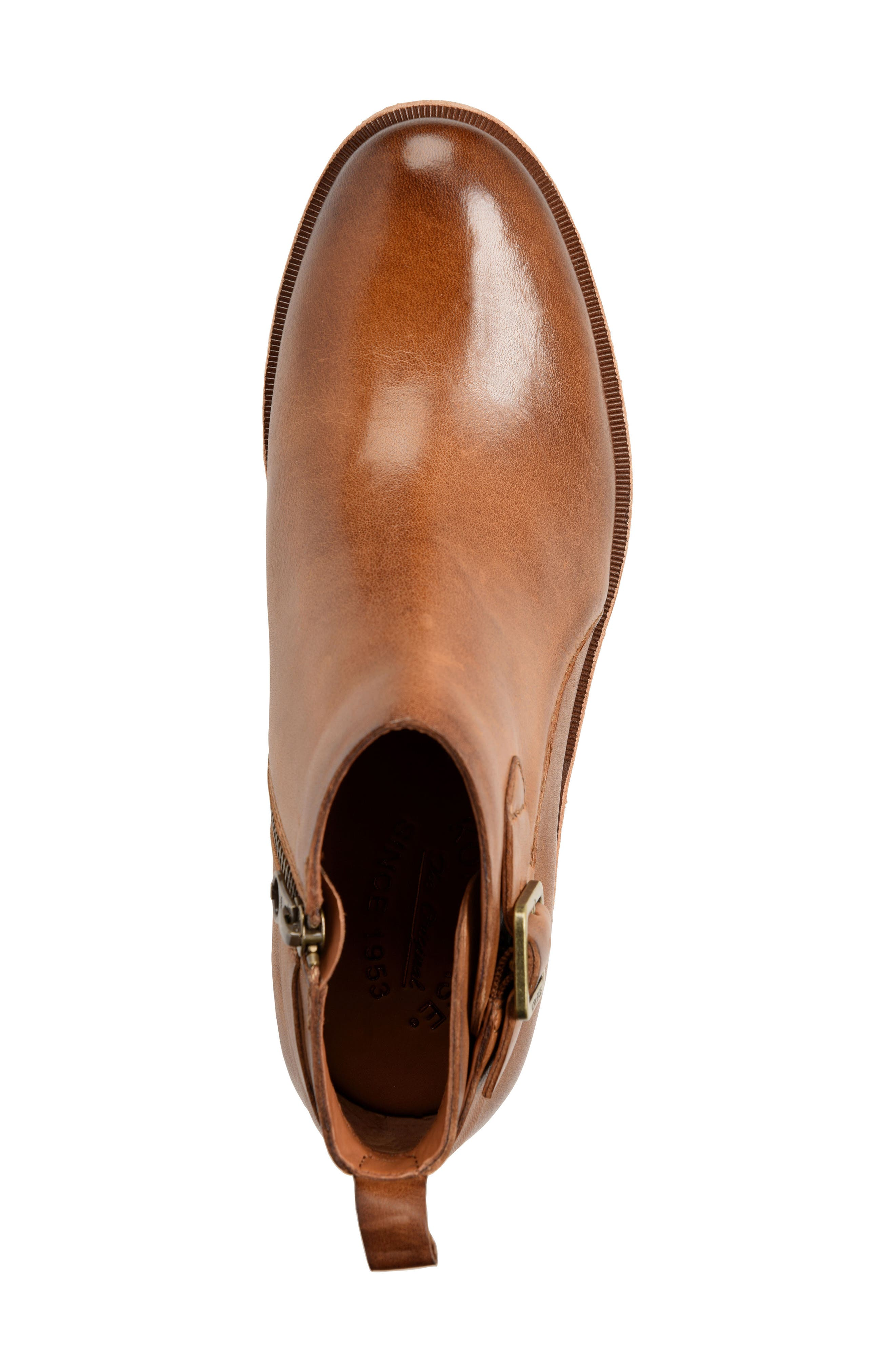Mesa Boot,                             Alternate thumbnail 5, color,                             BROWN LEATHER