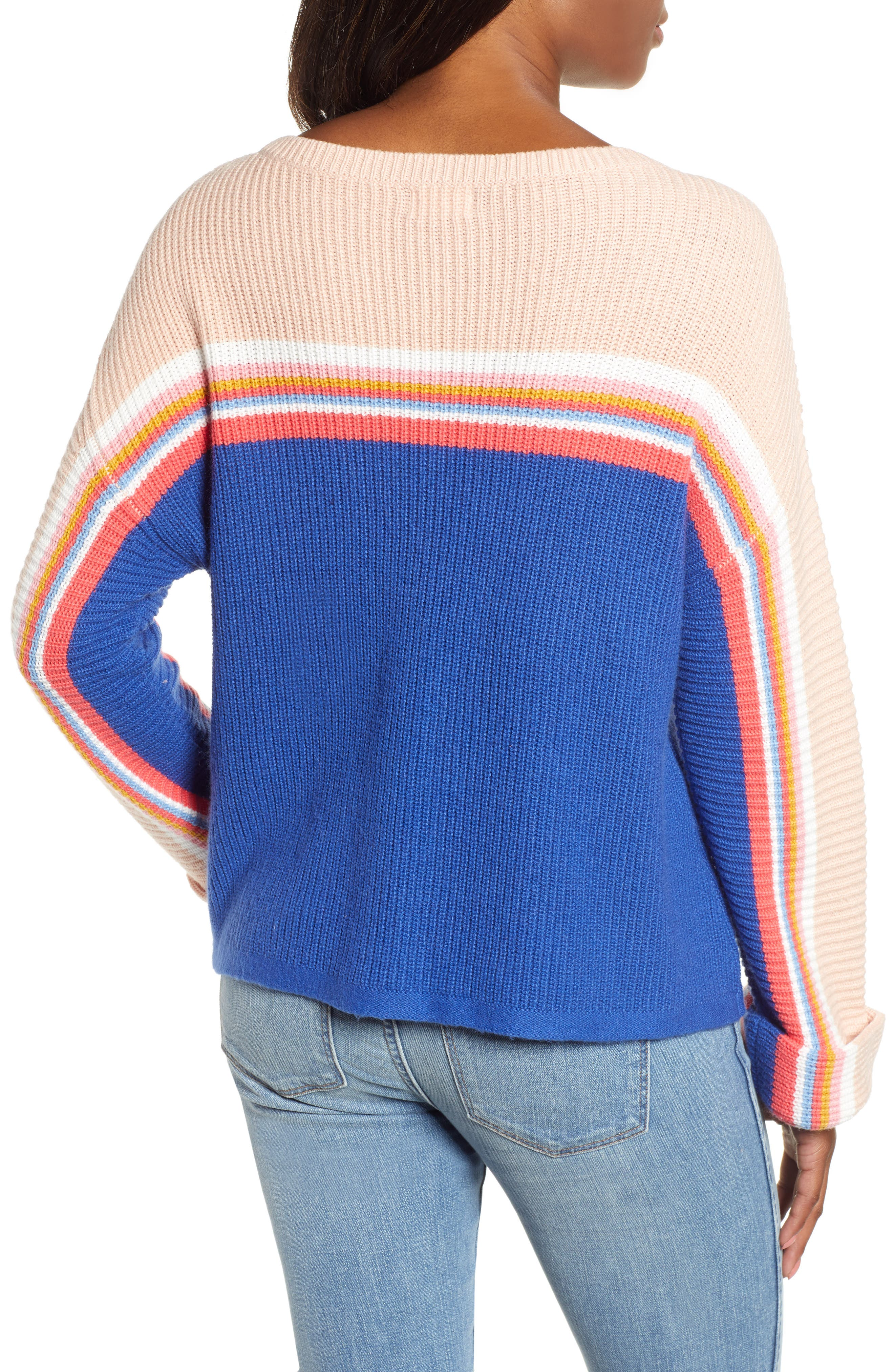 CASLON<SUP>®</SUP>,                             Shaker Stitch Sweater,                             Alternate thumbnail 2, color,                             401