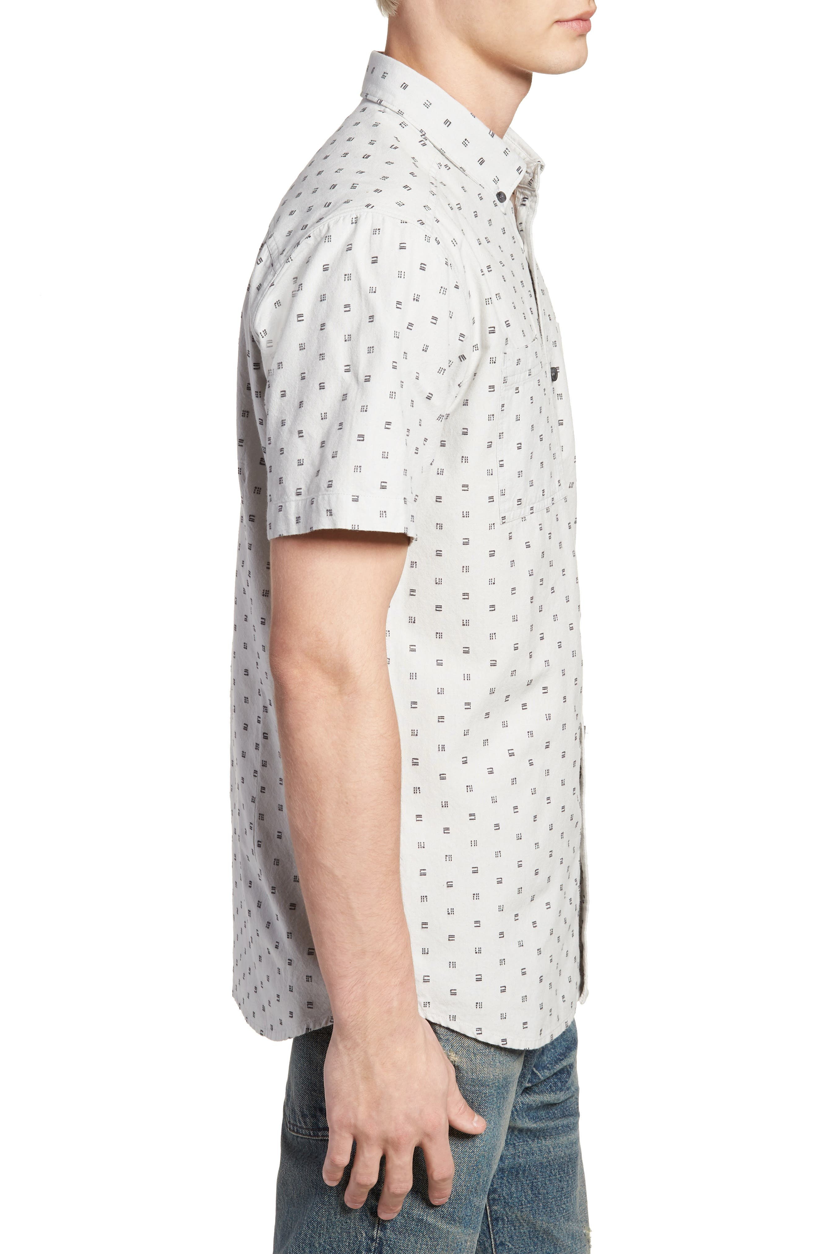 O'NEILL,                             Fifty Two Short Sleeve Shirt,                             Alternate thumbnail 3, color,                             036