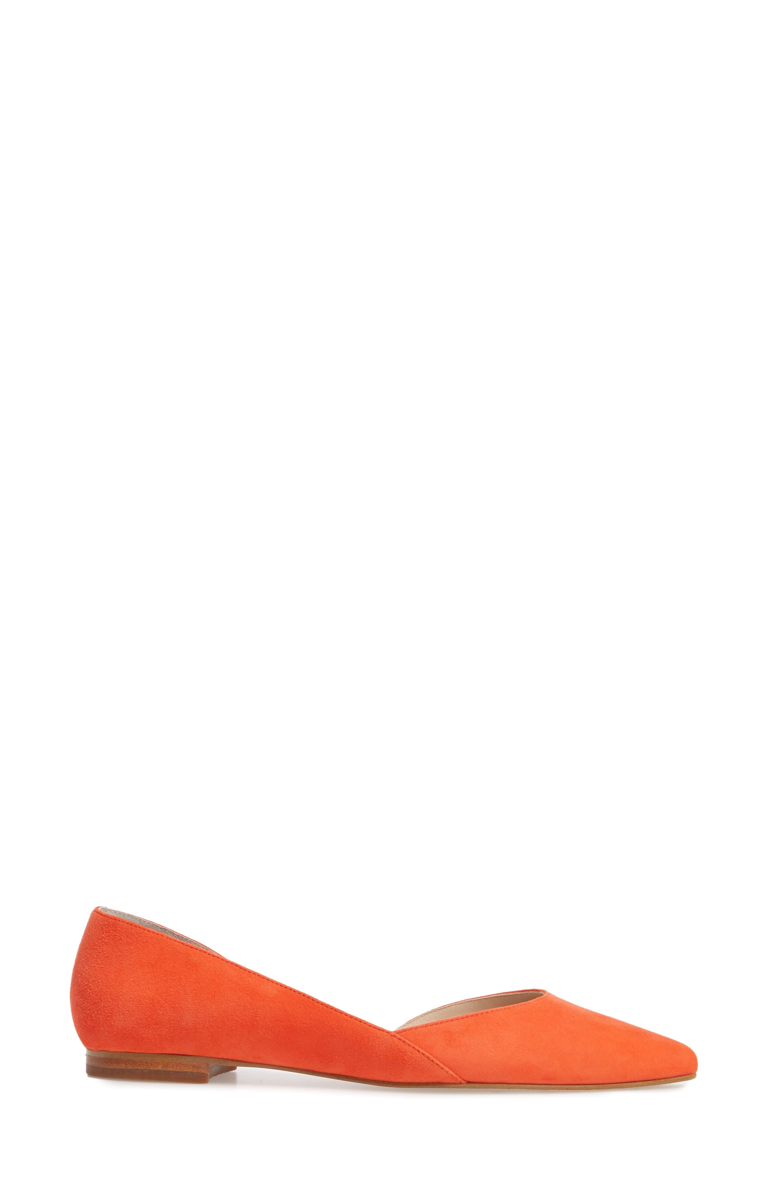'Sunny' Half d'Orsay Flat,                             Alternate thumbnail 114, color,