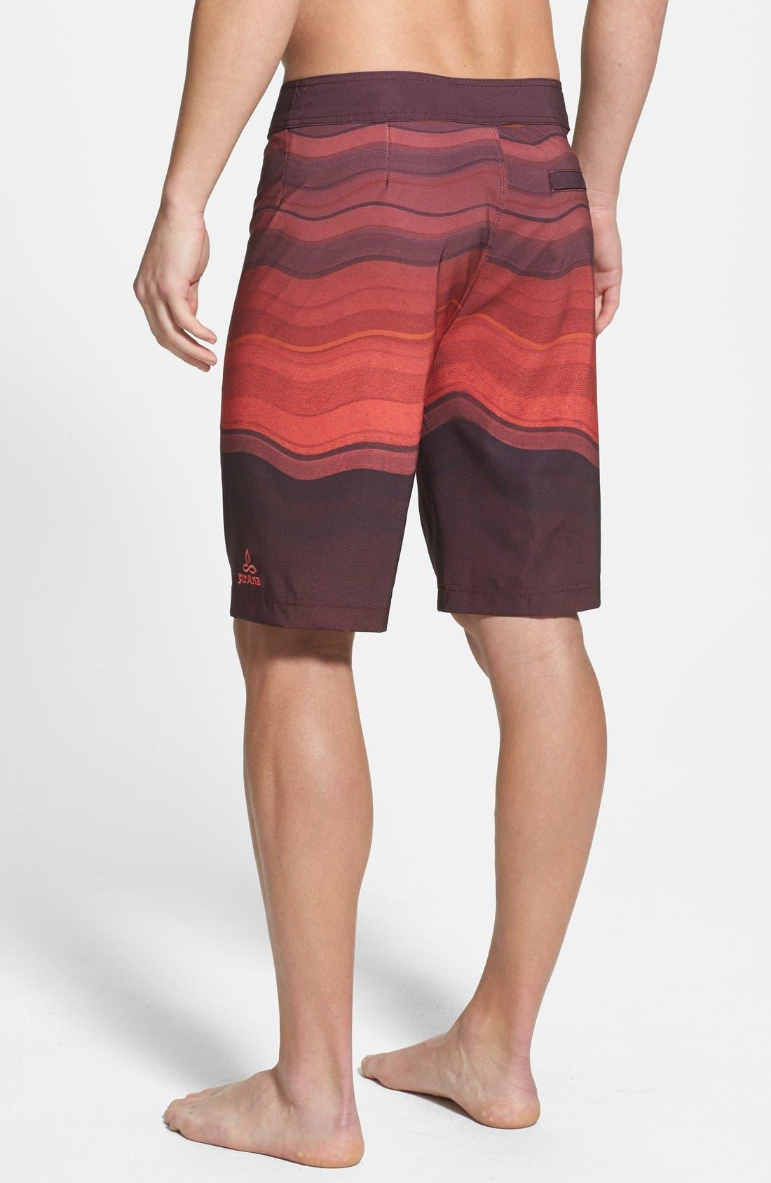 'Sediment' Stretch Board Shorts,                             Alternate thumbnail 42, color,