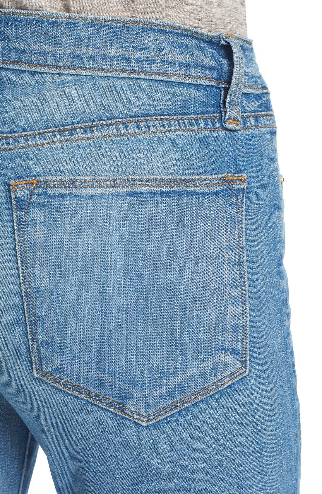 'Le High Flare' Jeans,                             Alternate thumbnail 11, color,