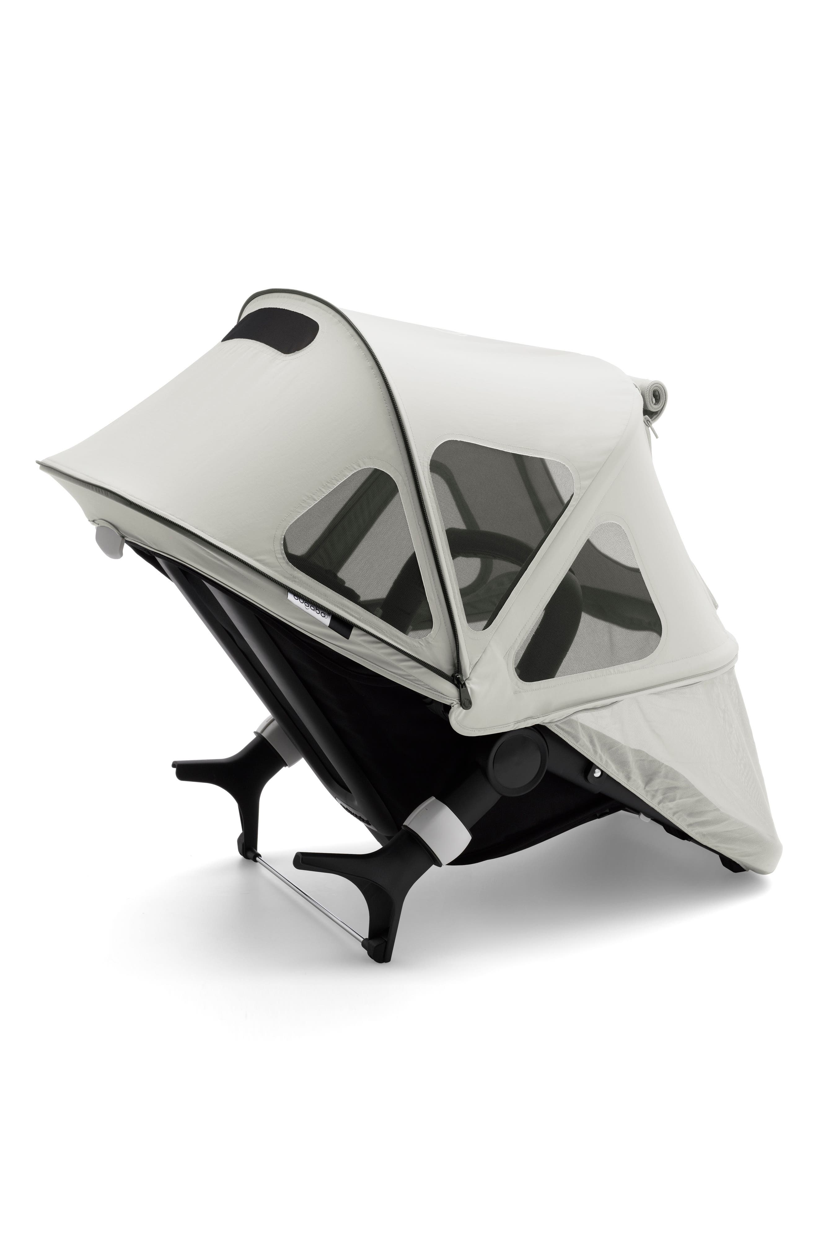 Breezy Sun Canopy for Fox & Cameleon³ Strollers,                             Main thumbnail 1, color,                             ARTIC GREY