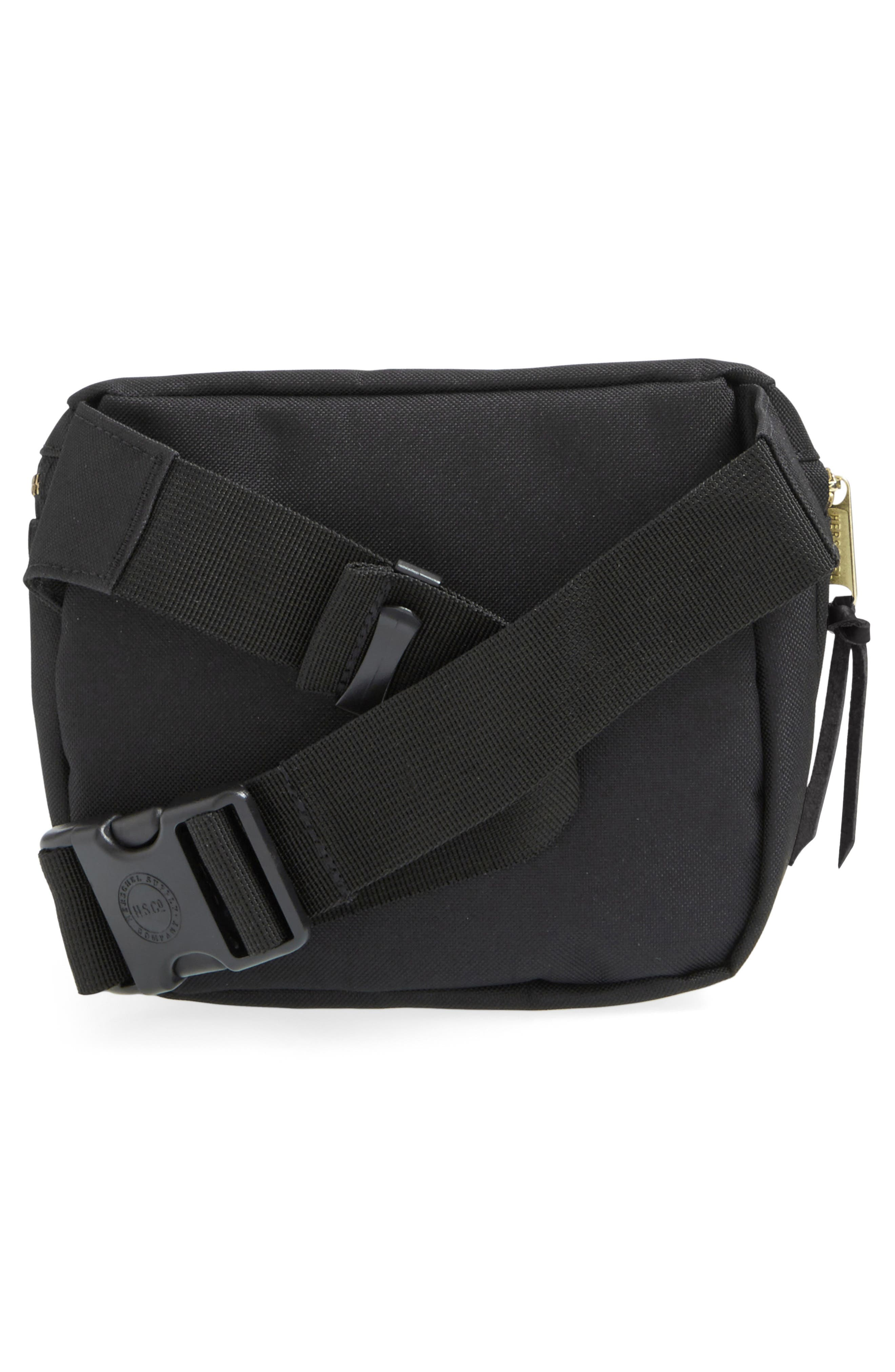 Fifteen Belt Bag,                             Alternate thumbnail 3, color,                             BLACK