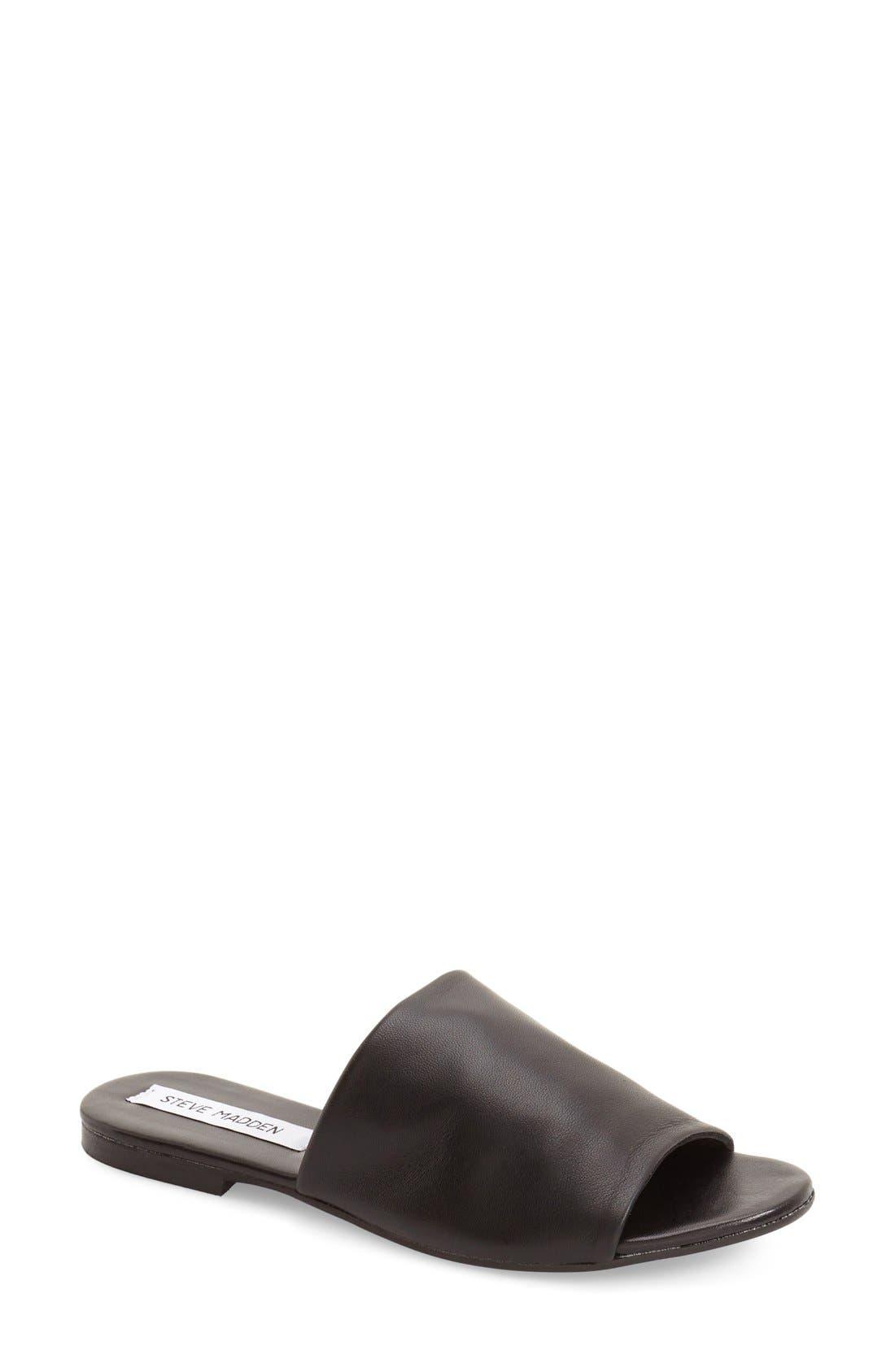 'Slidur' Slide Sandal,                         Main,                         color, 001