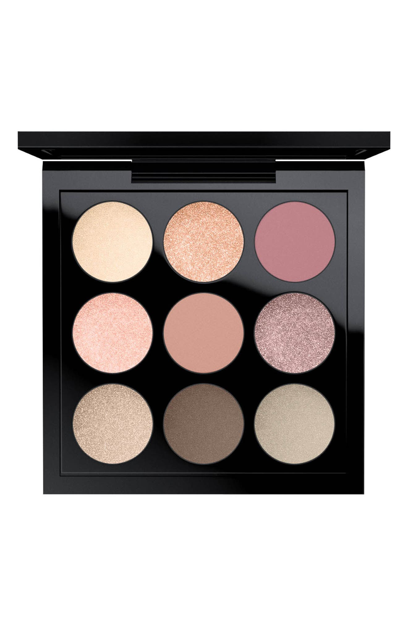 MAC Times Nine Eyeshadow Palette,                             Main thumbnail 1, color,                             SOLAR GLOW TIMES NINE