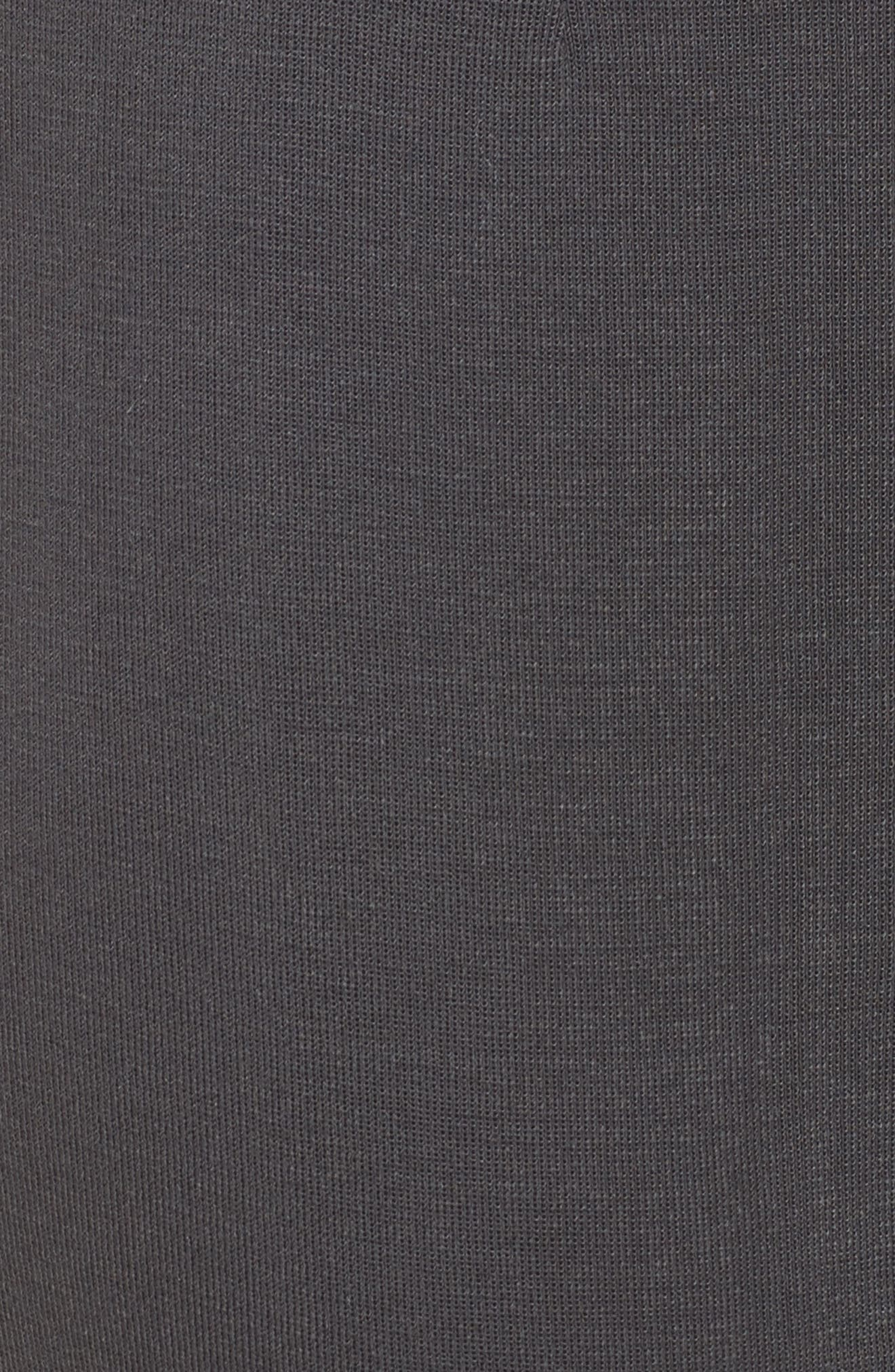 MING WANG,                             Pull-On Knit Pants,                             Alternate thumbnail 5, color,                             GRANITE