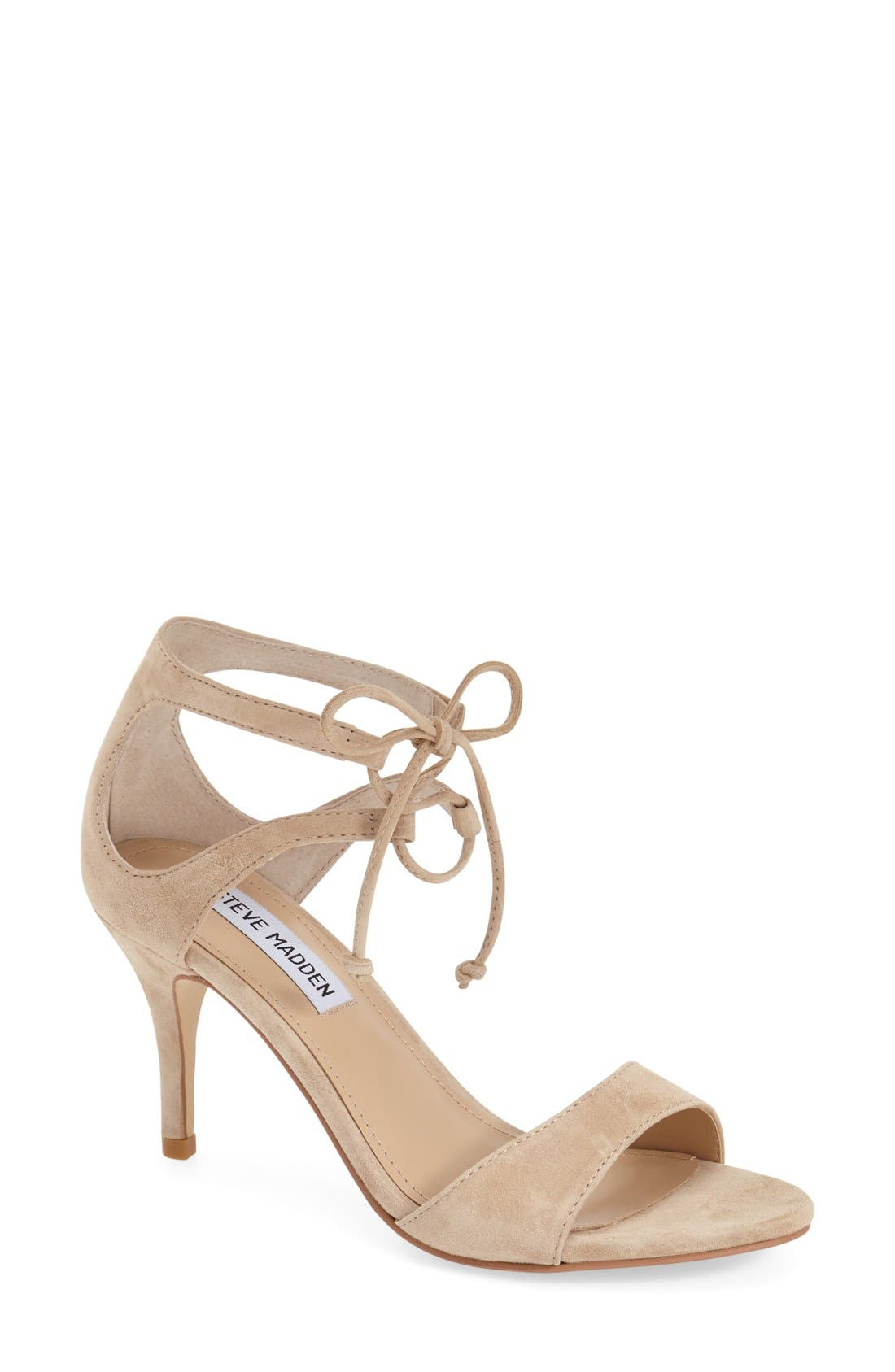'Salsaa' Lace-Up Ankle Strap Sandal,                             Main thumbnail 2, color,