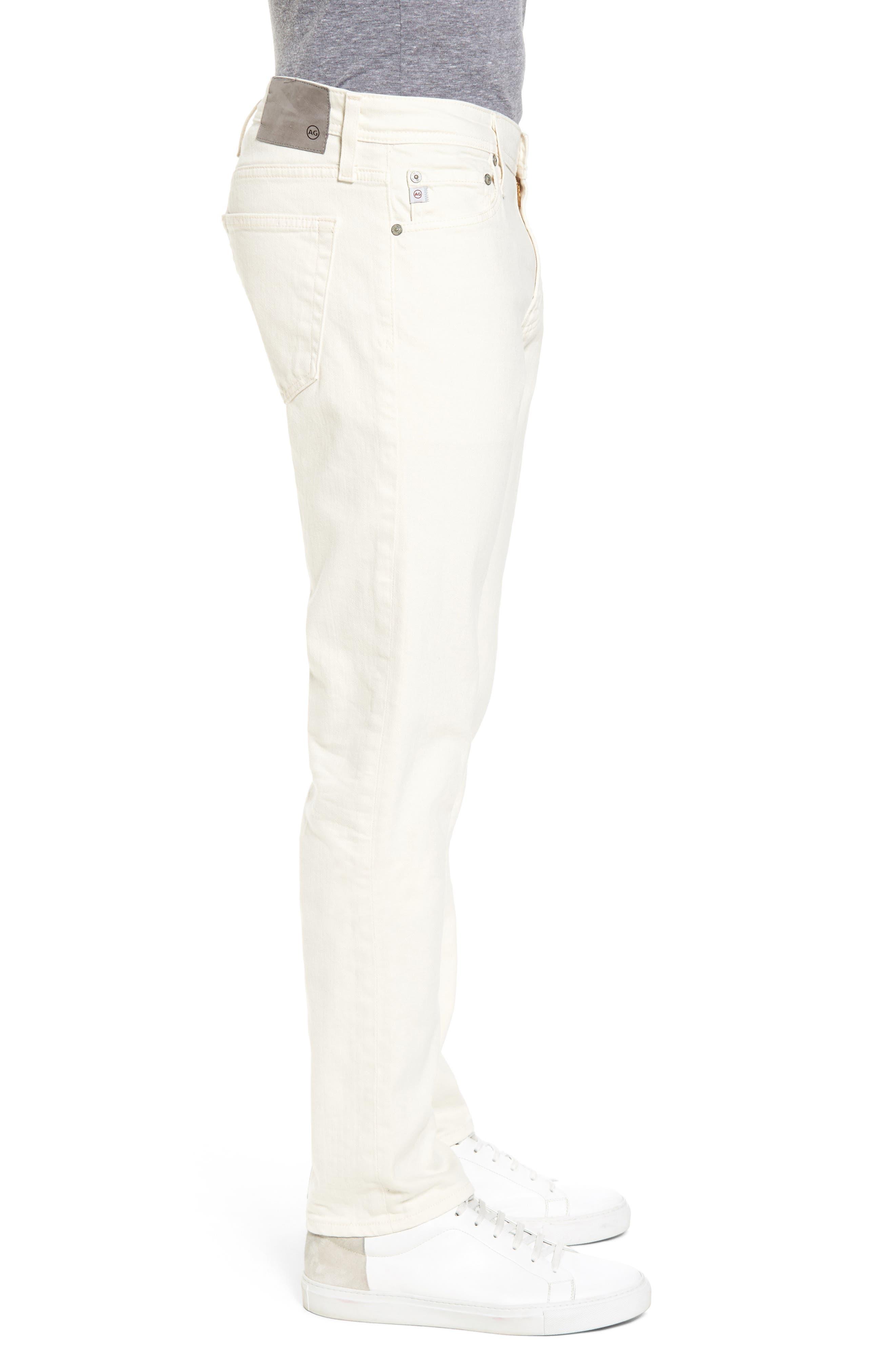 Tellis Modern Slim Twill Pants,                             Alternate thumbnail 3, color,                             020