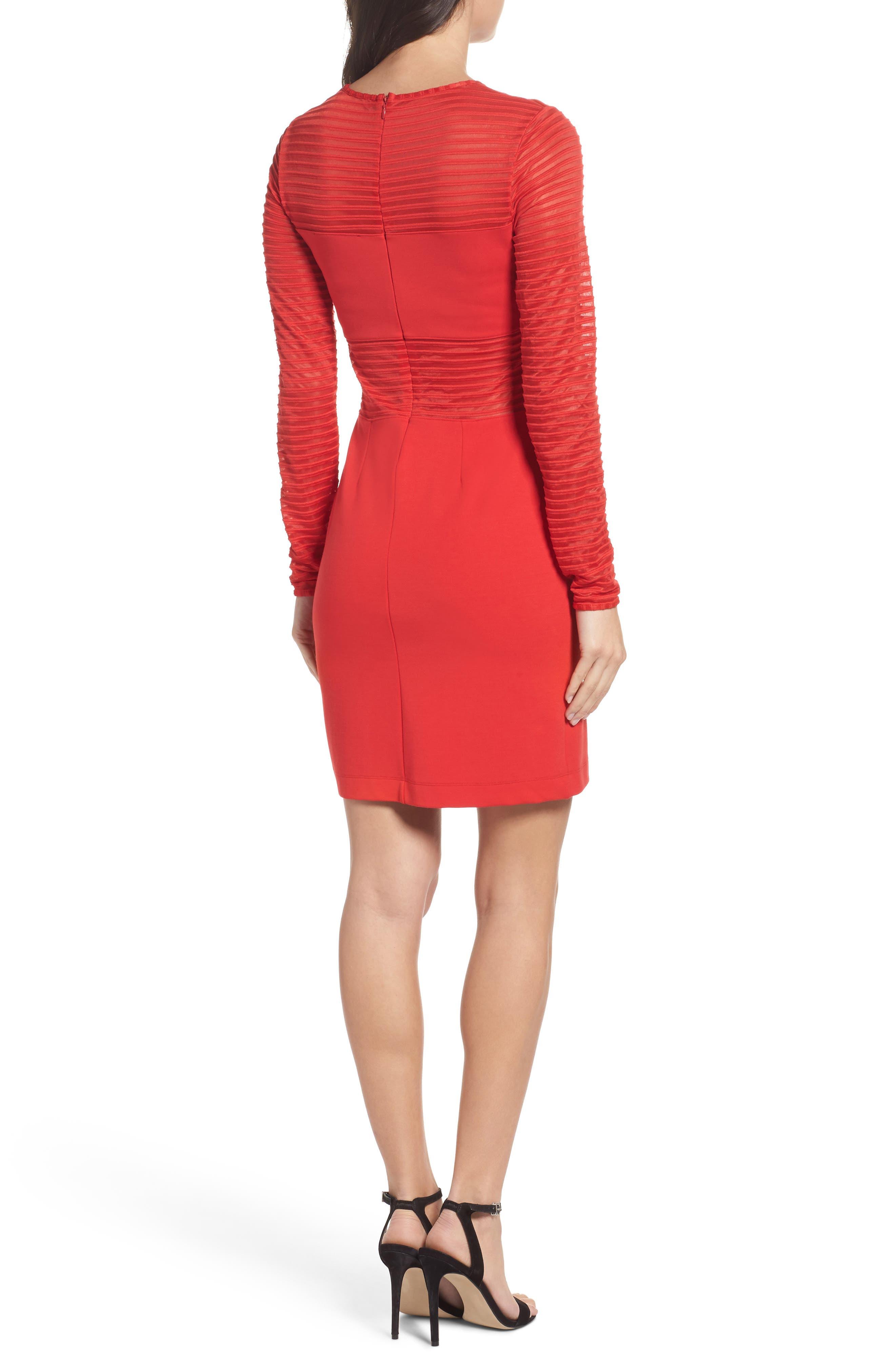 Thiestis Body-Con Dress,                             Alternate thumbnail 4, color,