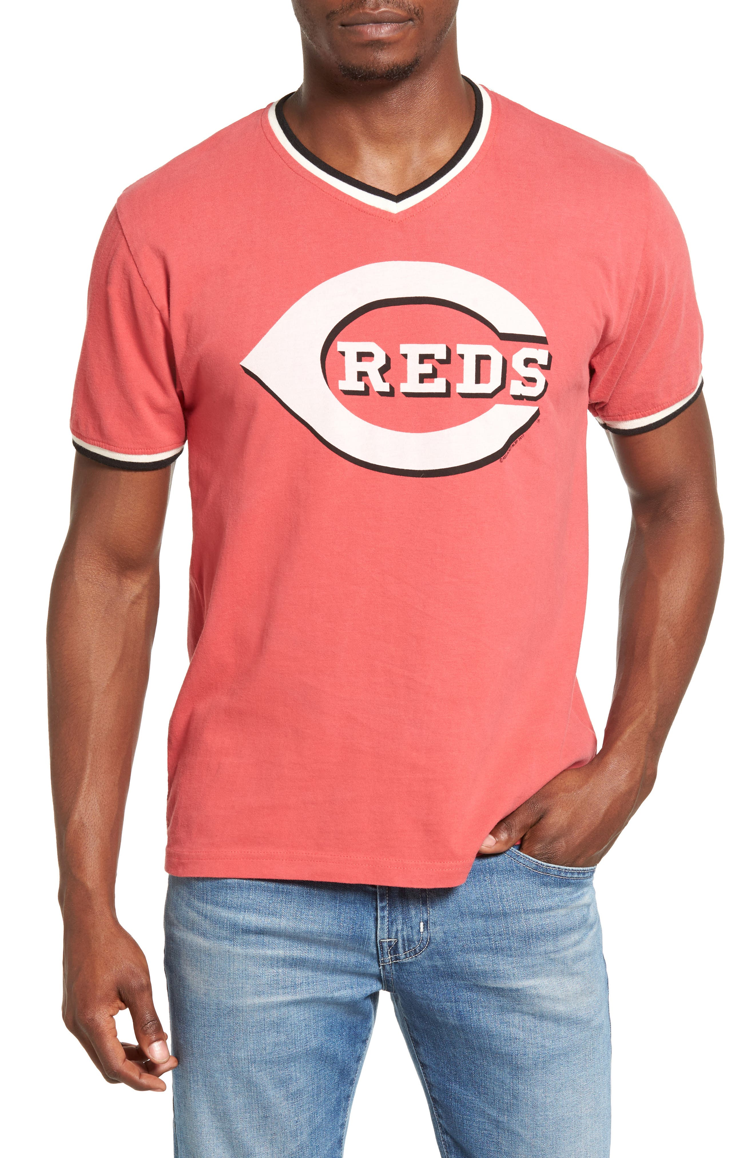 Eastwood Cincinnati Reds T-Shirt,                             Main thumbnail 1, color,