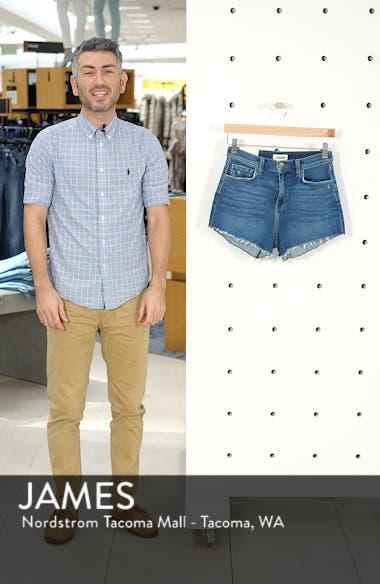 Ryland High Waist Denim Shorts, sales video thumbnail