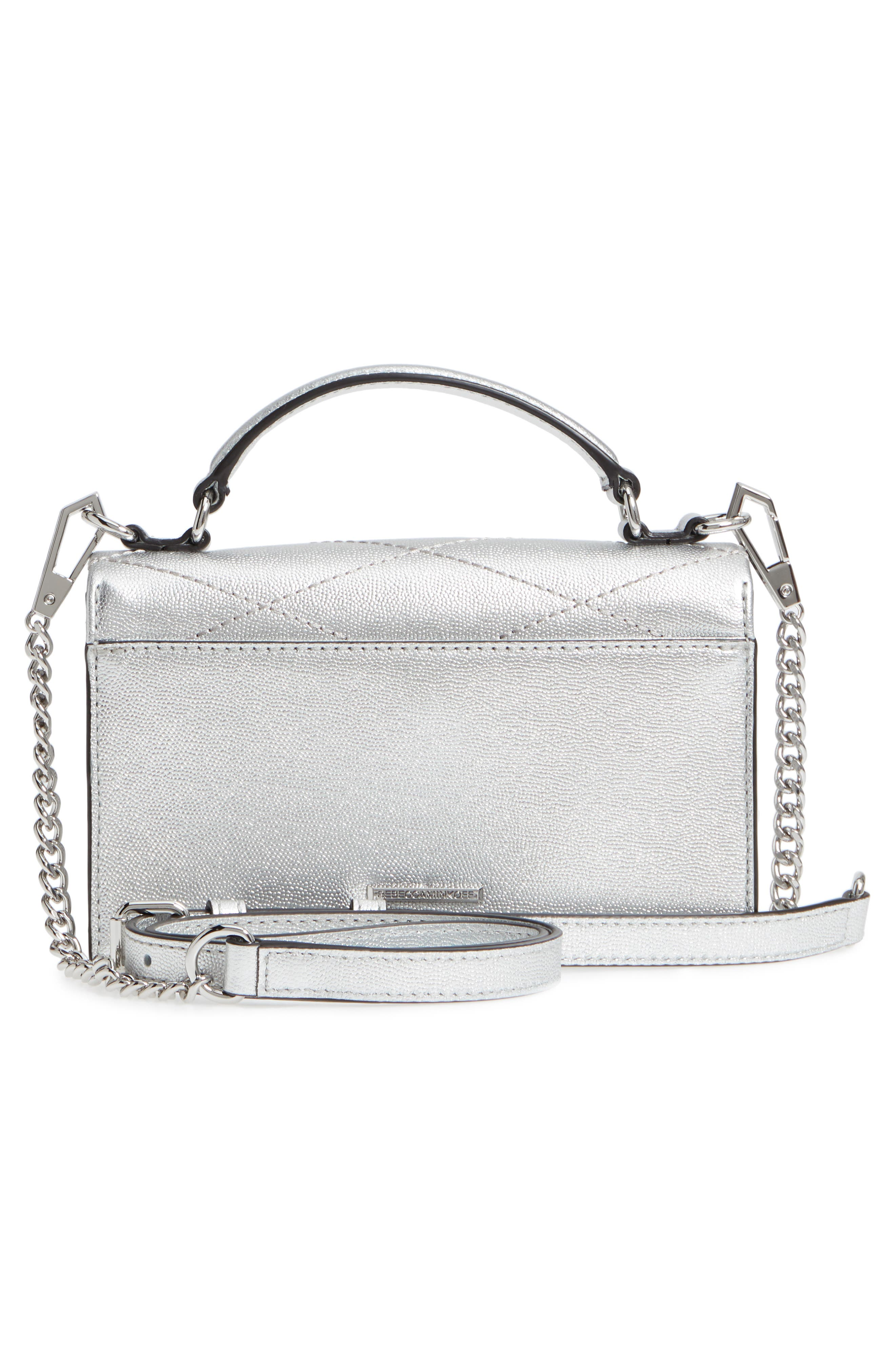 Small Je T'aime Leather Crossbody Bag,                             Alternate thumbnail 12, color,