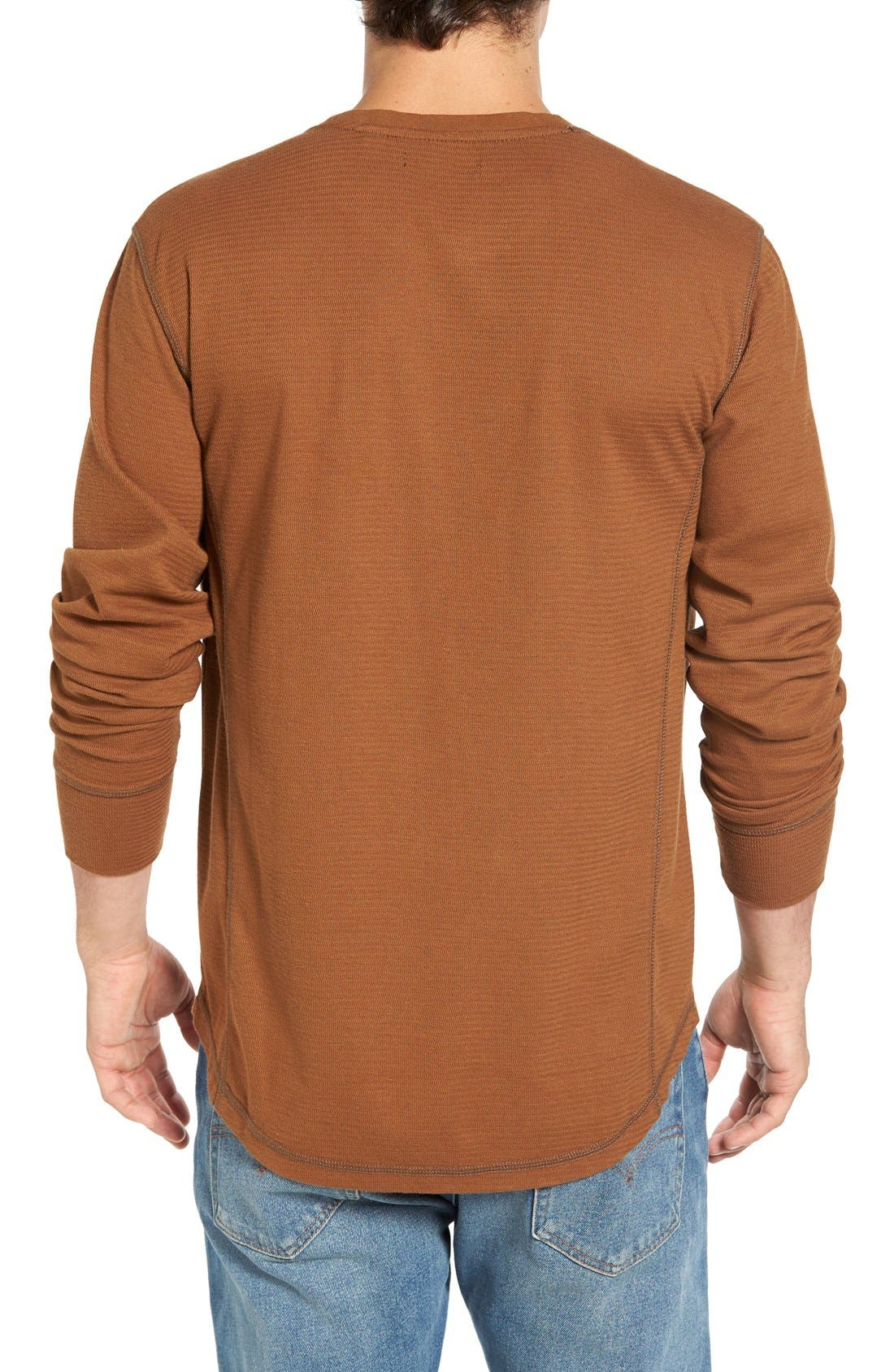 Larsen Zigzag Thermal T-Shirt,                             Alternate thumbnail 6, color,