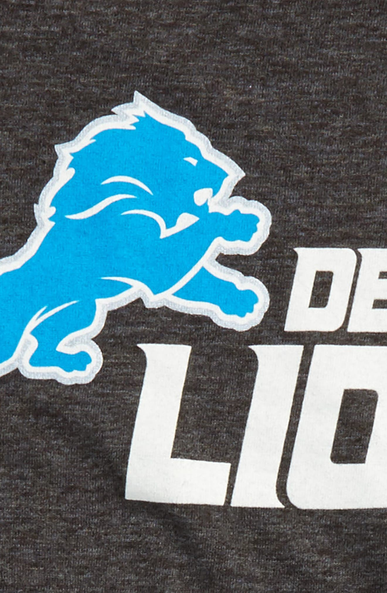 NFL Detroit Lions Distressed Logo T-Shirt,                             Alternate thumbnail 2, color,                             400