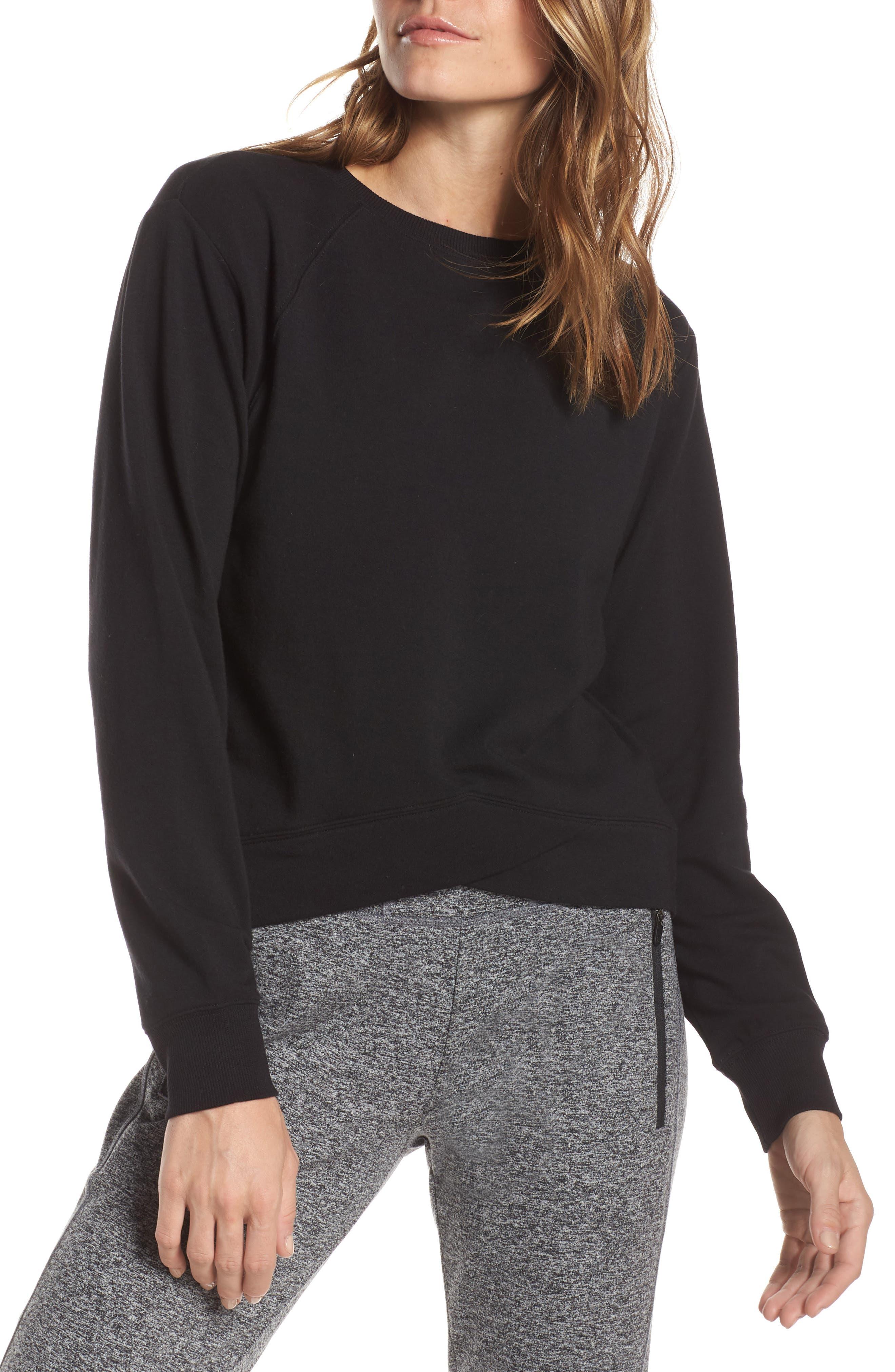 Uplifted Sweatshirt,                             Main thumbnail 1, color,                             001