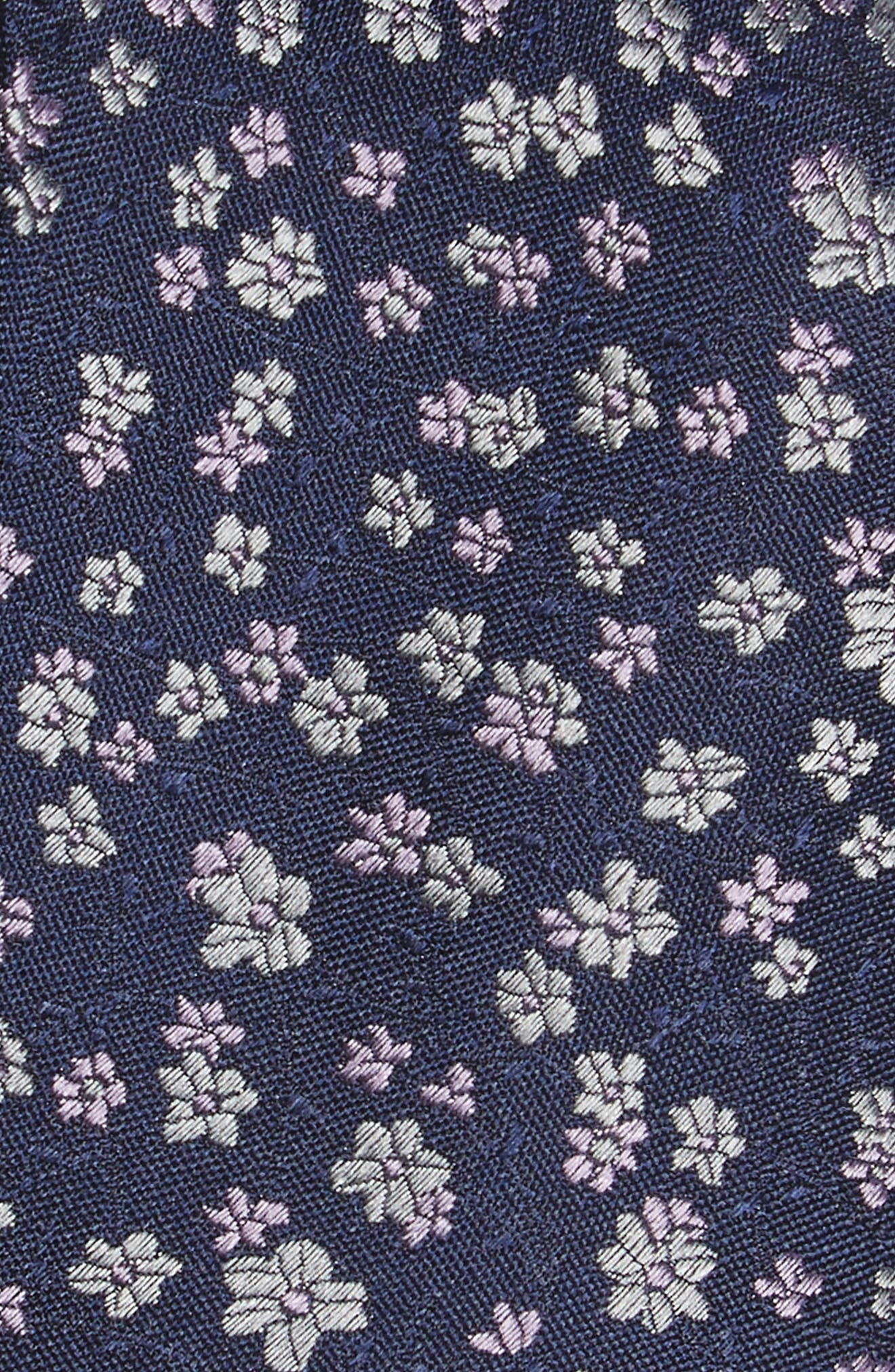 Freefall Floral Silk Tie,                             Alternate thumbnail 15, color,