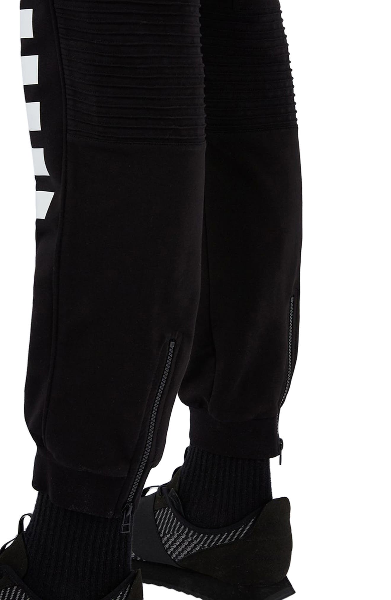AAA Collection Stripe Jogger Pants,                             Alternate thumbnail 2, color,                             001