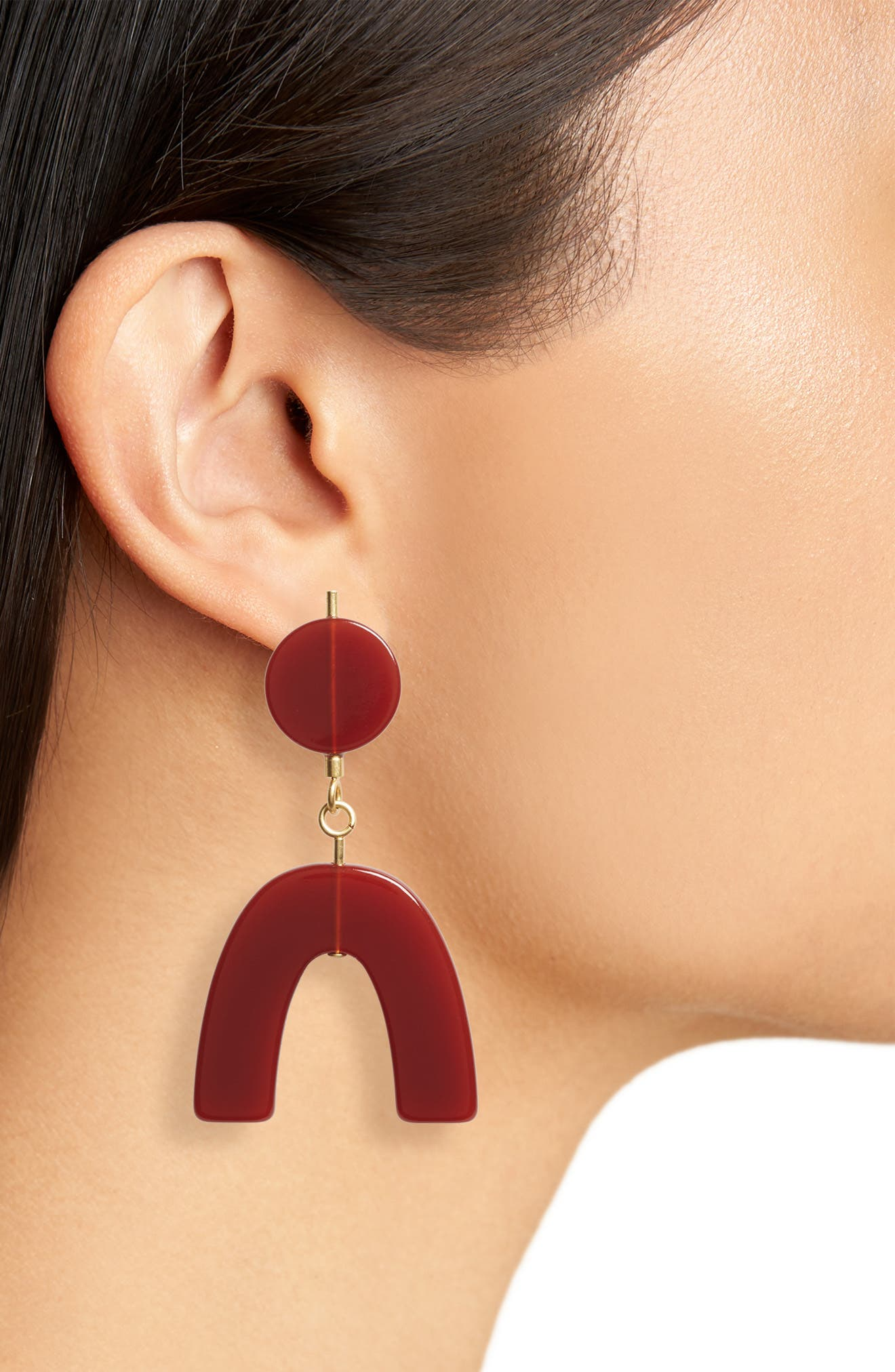 Shapes Statement Drop Earrings,                             Alternate thumbnail 2, color,                             200