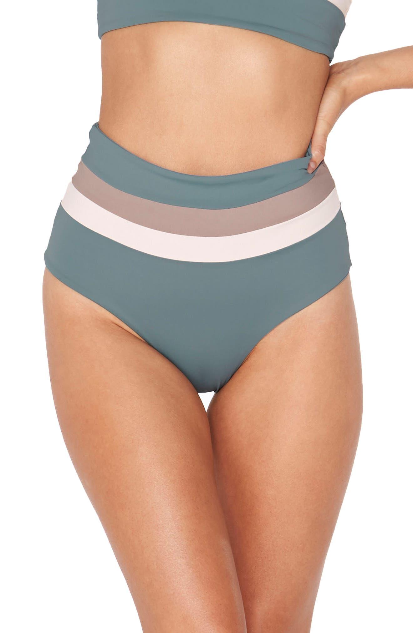 Portia Reversible Colorblock Bikini Bottoms,                             Main thumbnail 2, color,