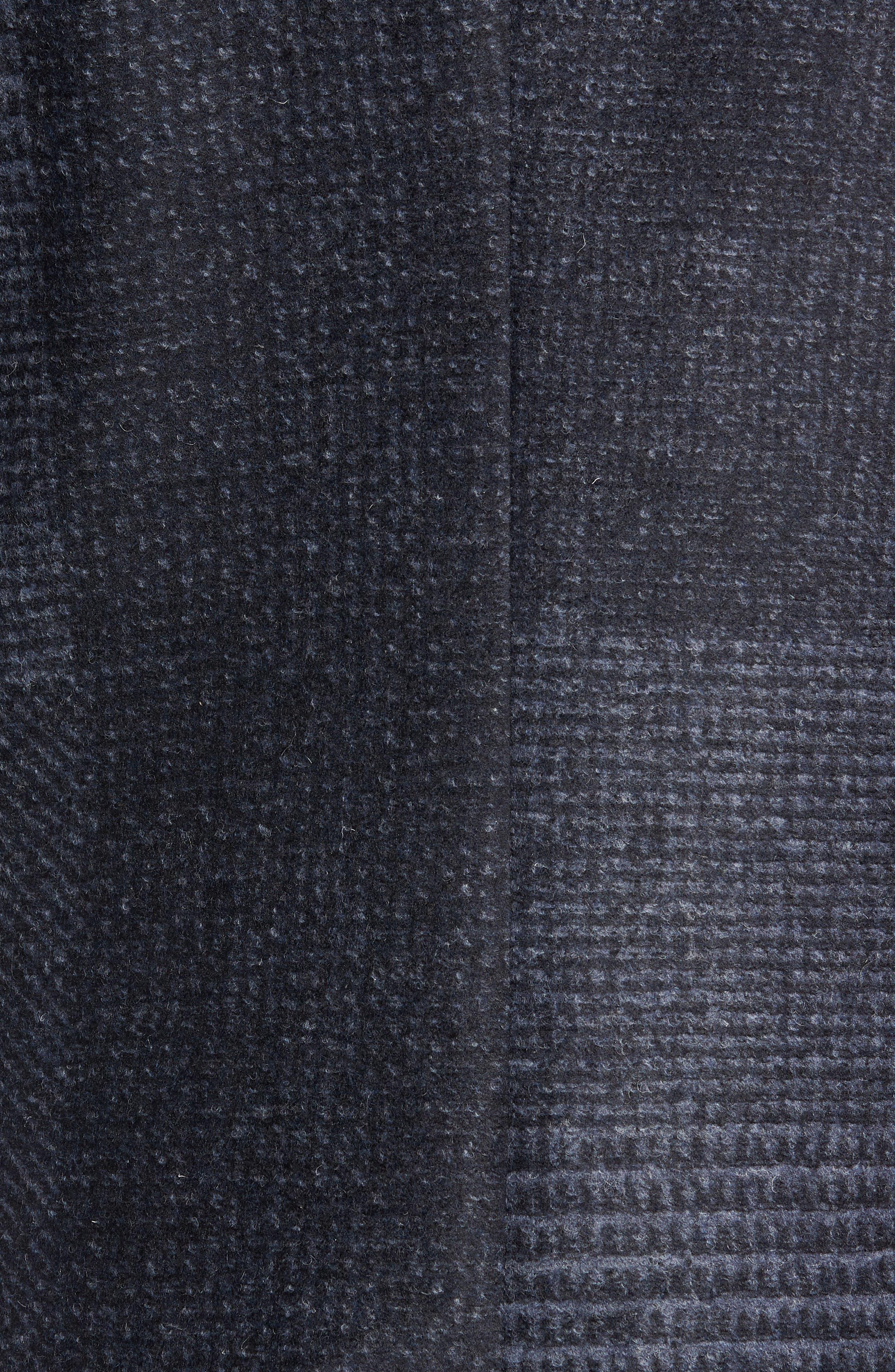 Lamberton Classic Top Coat,                             Alternate thumbnail 6, color,                             NAVY